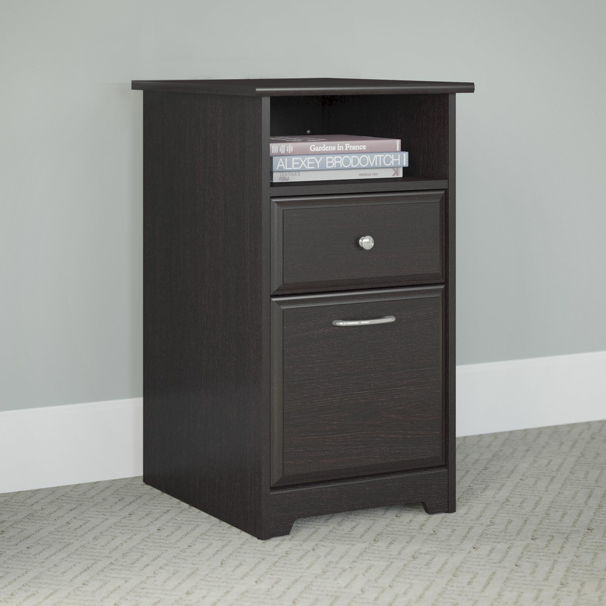 Bush Furniture Cabot 2 Drawer Pedestal & Reviews