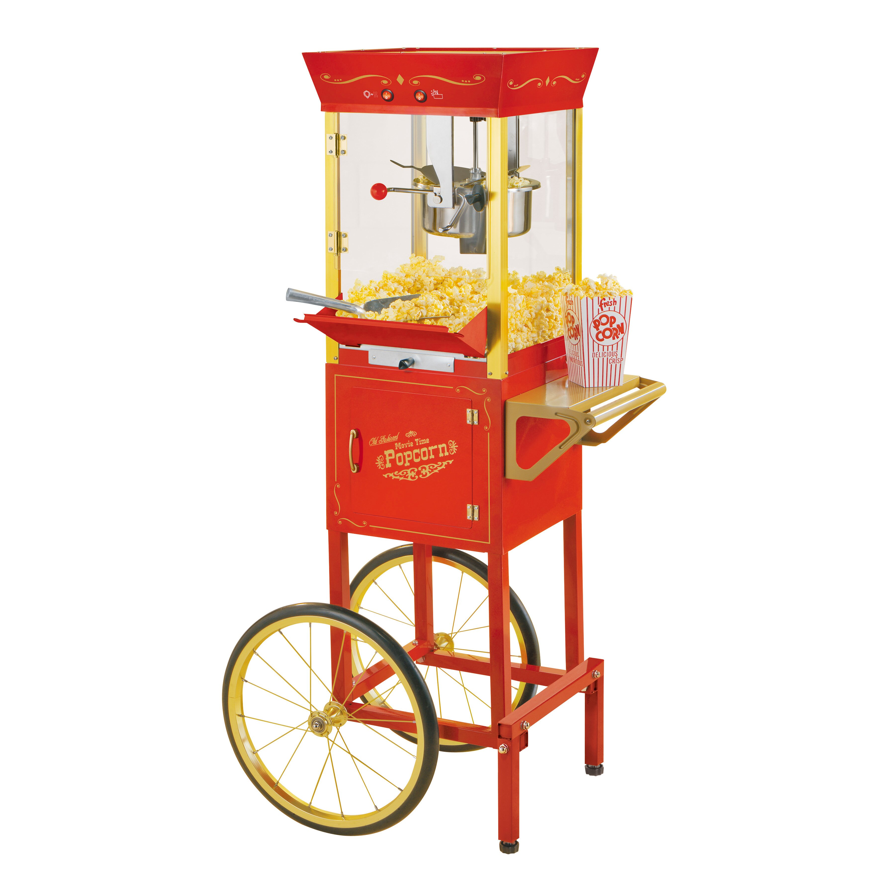 kitchen living popcorn maker instructions