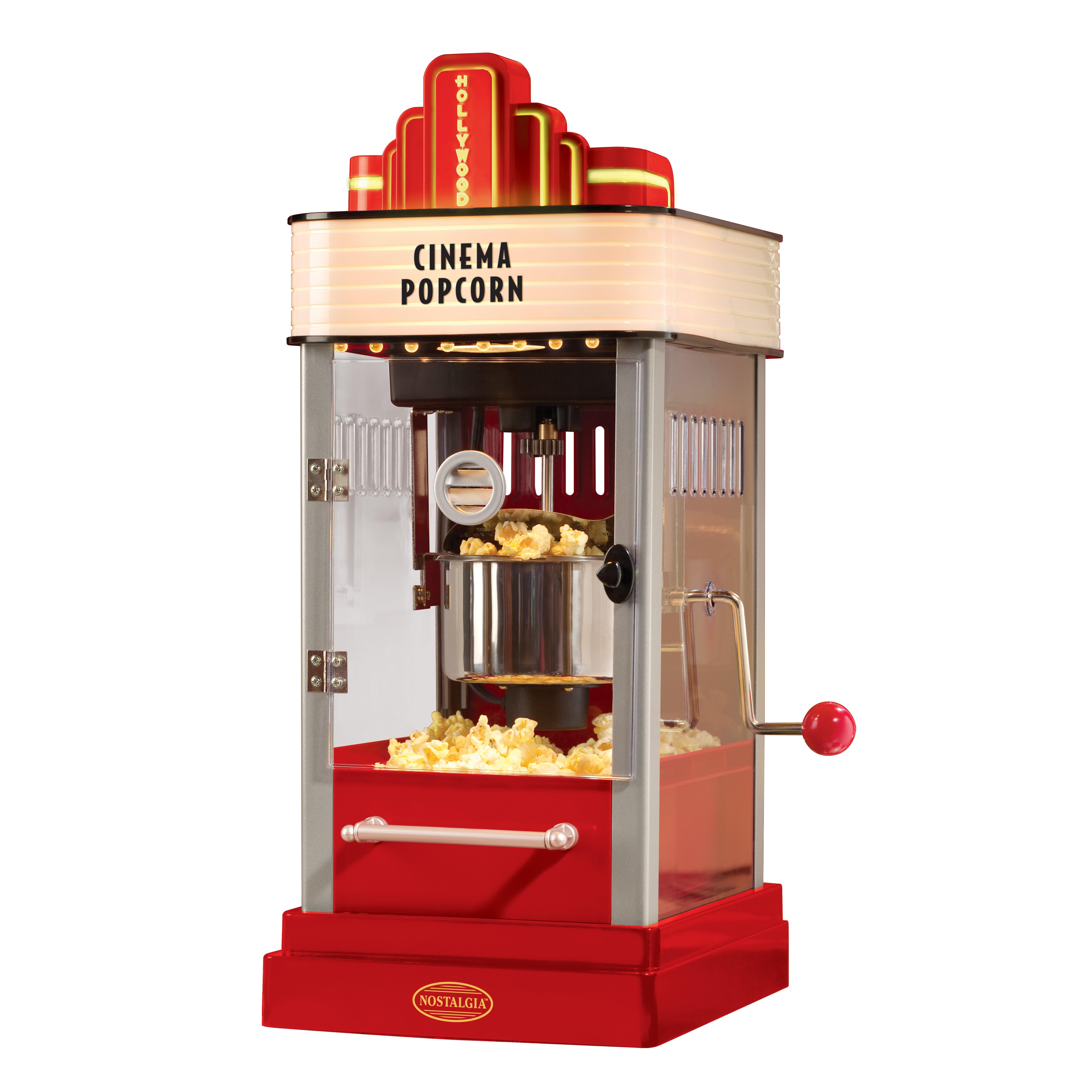 nostalgia electrics kettle popcorn machine