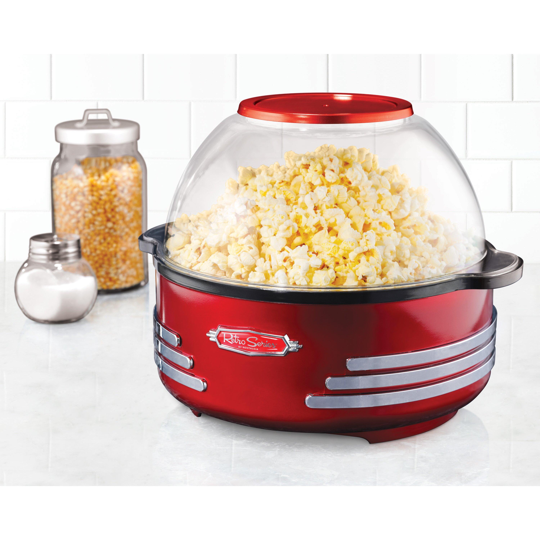 Electric Popcorn Maker ~ Nostalgia electrics retro series stirring popcorn maker