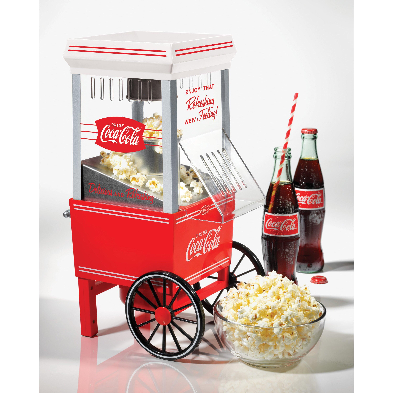 Nostalgia electrics coca cola popcorn maker manual