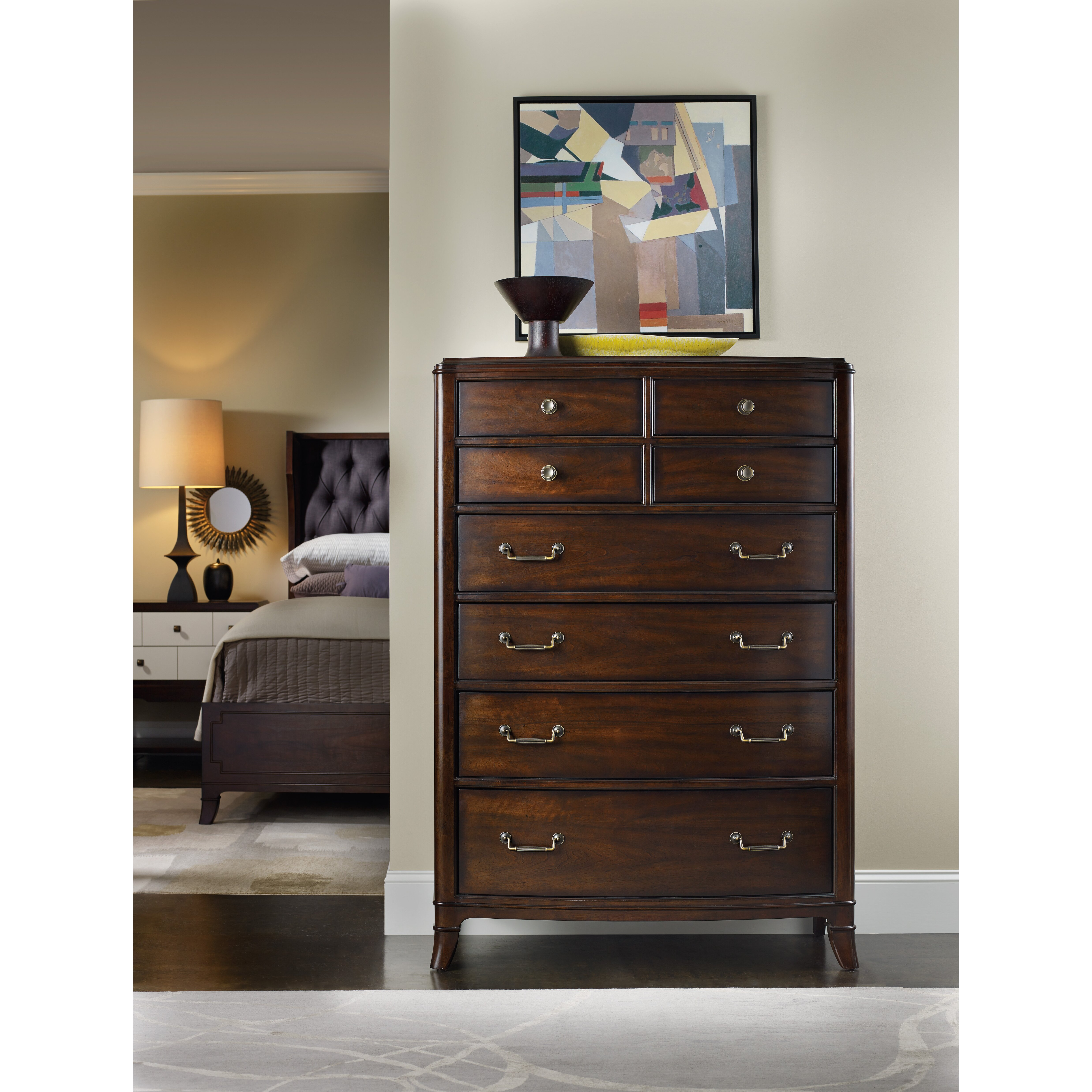 Hooker Furniture Palisade 8 Drawer Chest Reviews Wayfair