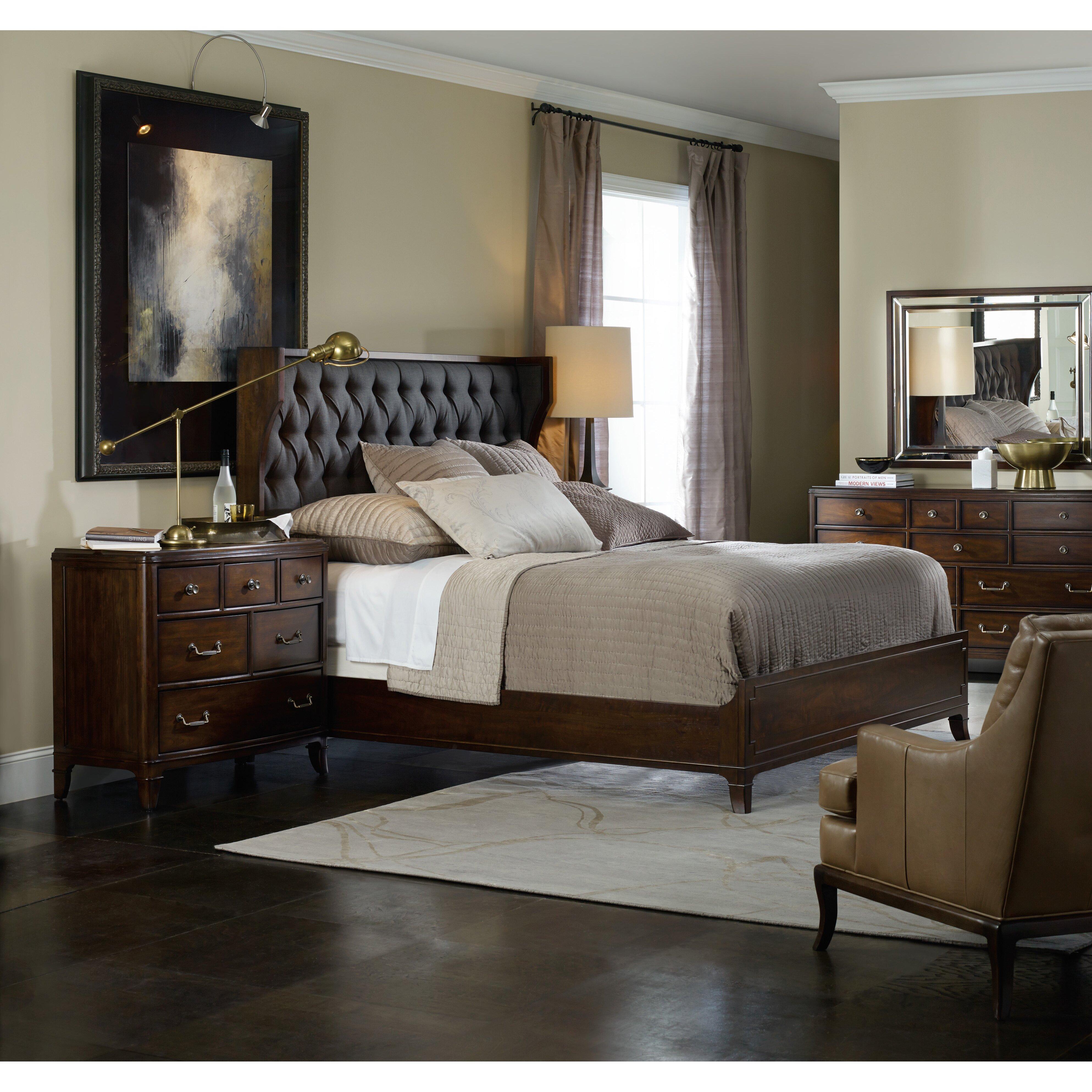 Hooker Furniture Palisade Panel Customizable Bedroom Set Reviews Wayfair