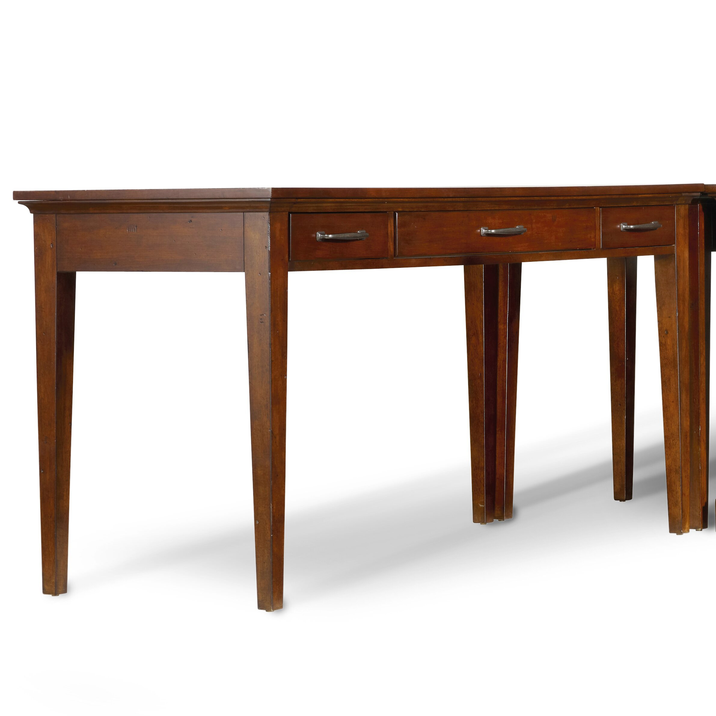 Hooker furniture wendover computer desk reviews wayfair for Computer desk furniture
