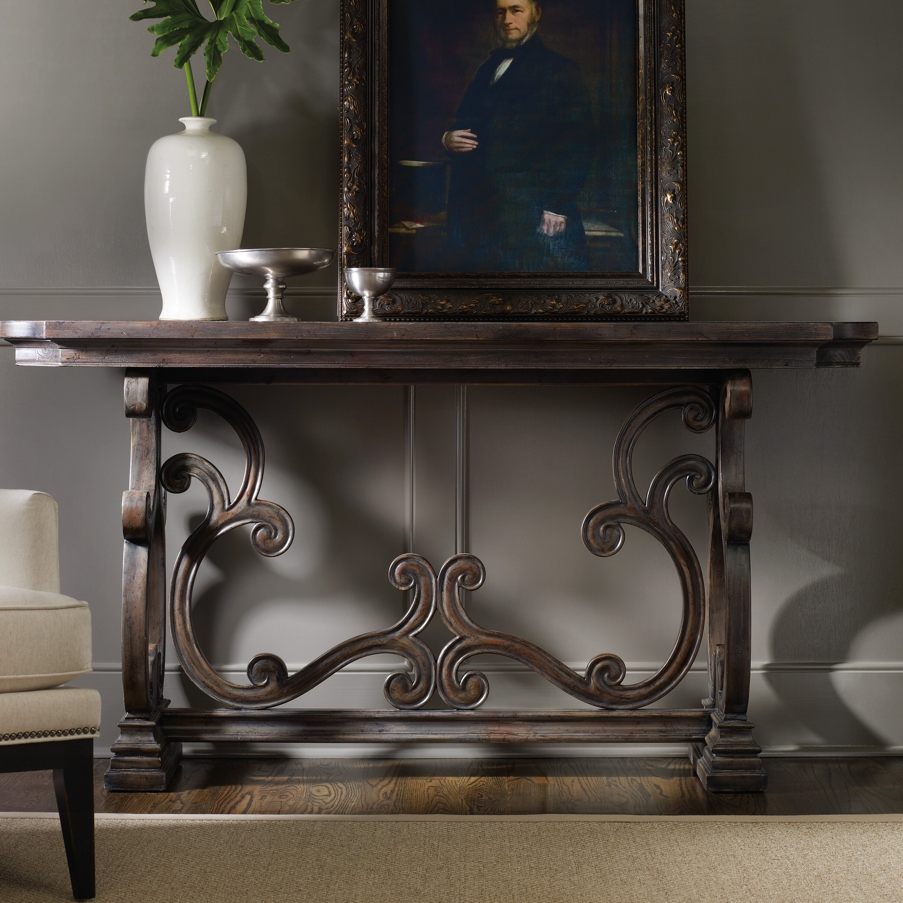 Hooker Furniture Davalle Console Table Amp Reviews Wayfair