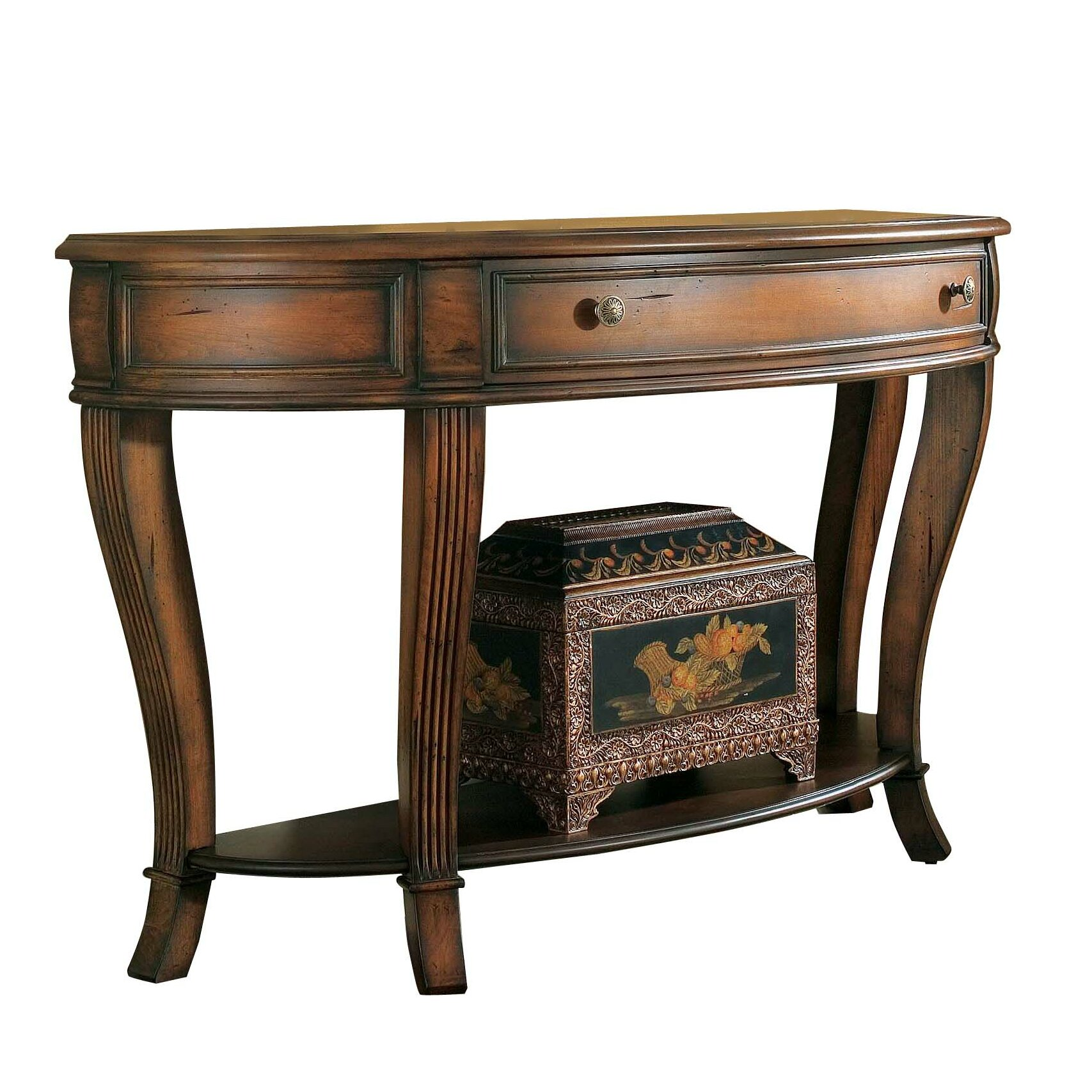 Hooker Furniture Brookhaven Console Table & Reviews | Wayfair