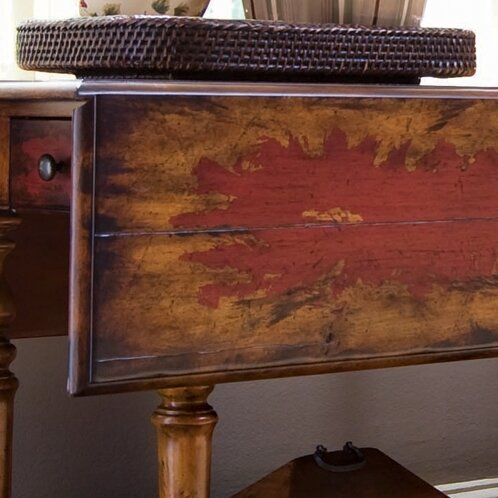 Hooker Furniture Seven Seas Drop Leaf Console Table