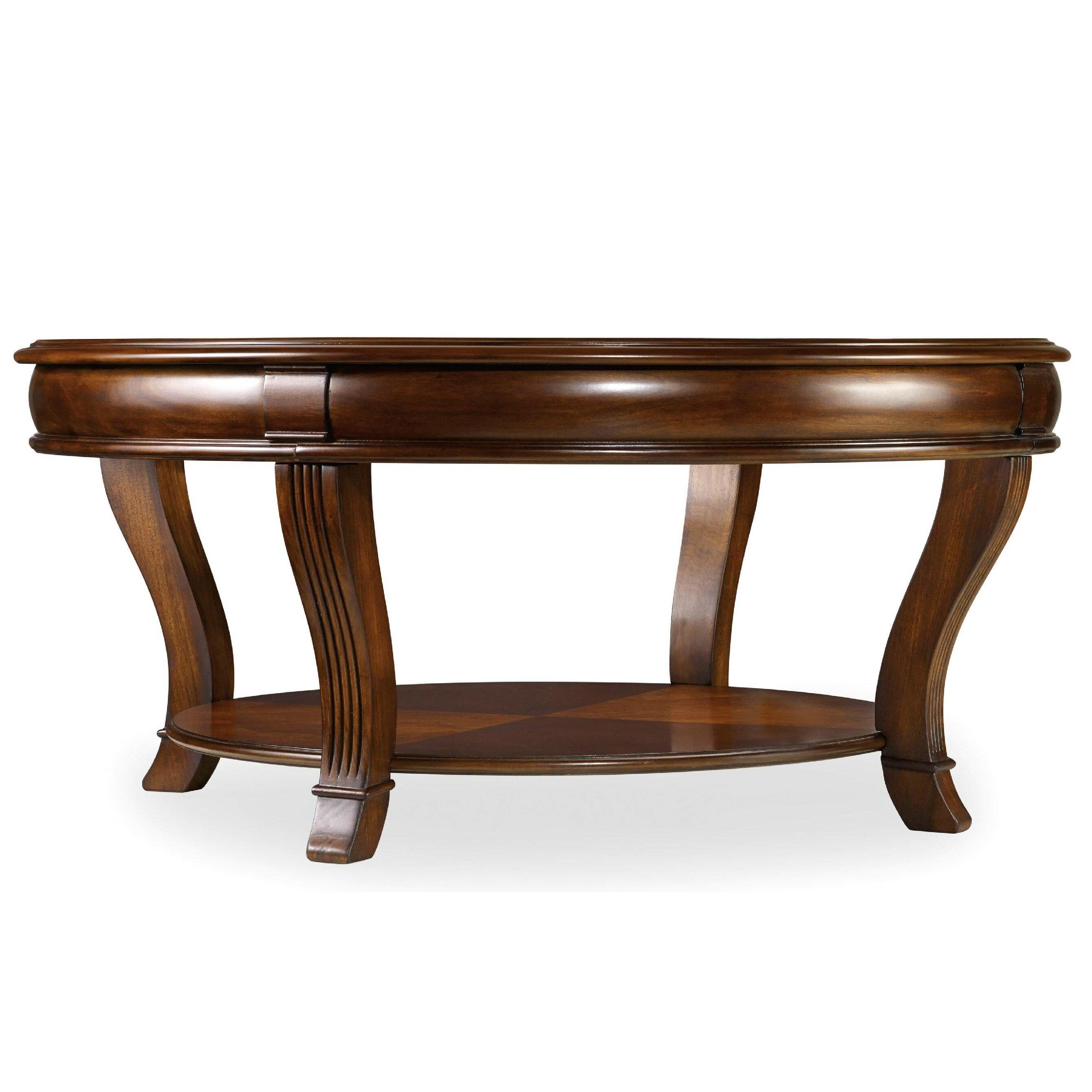Hooker furniture brookhaven coffee table reviews wayfair for Table furniture