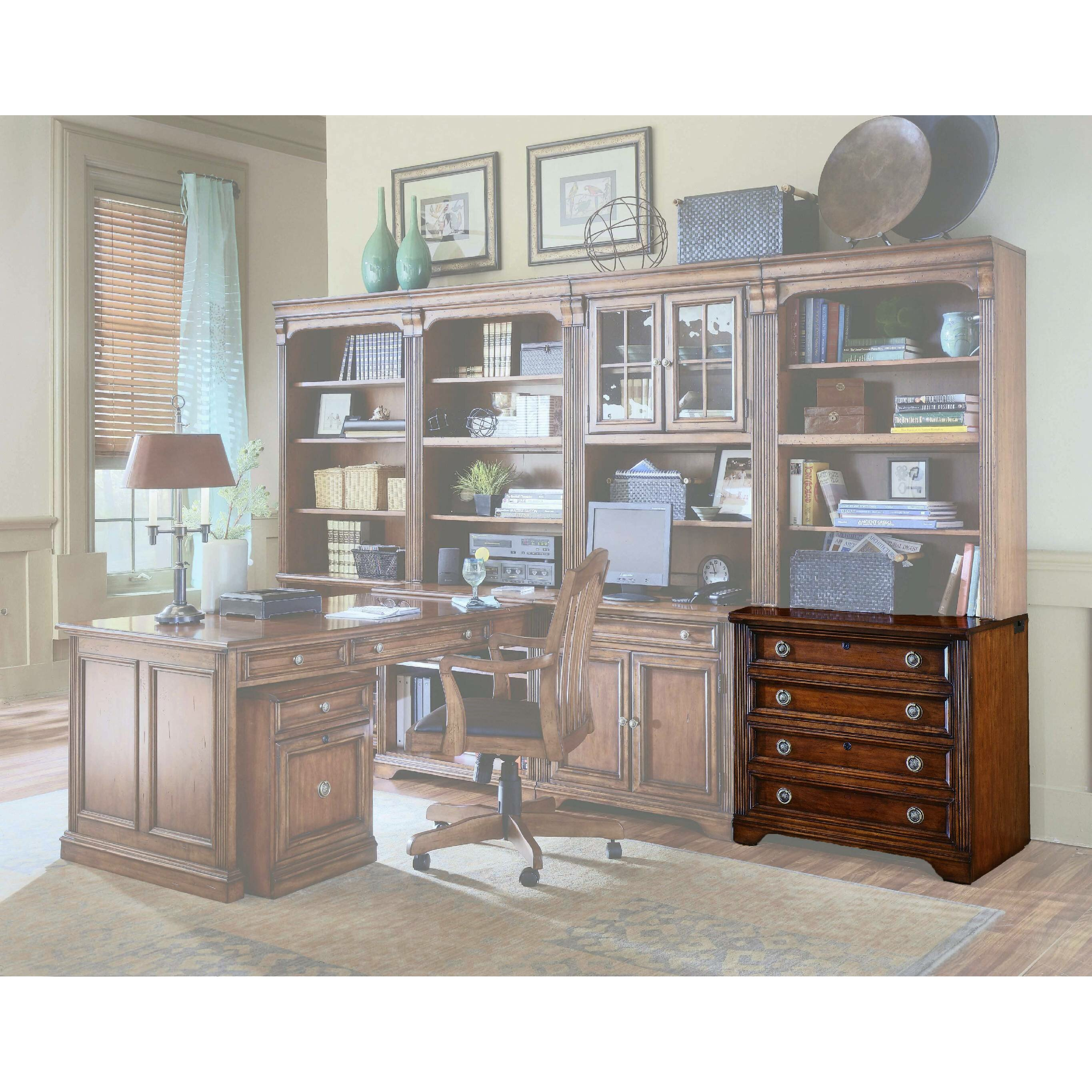 Hooker furniture brookhaven 2 drawer file reviews wayfair for Brookhaven kitchen cabinets price