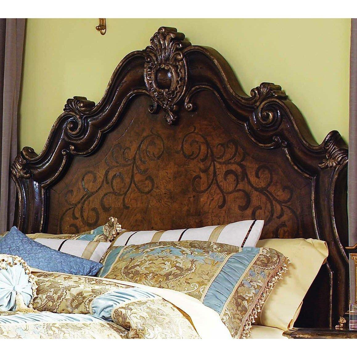 Hooker furniture beladora king headboard wayfair for Beladora bedroom set