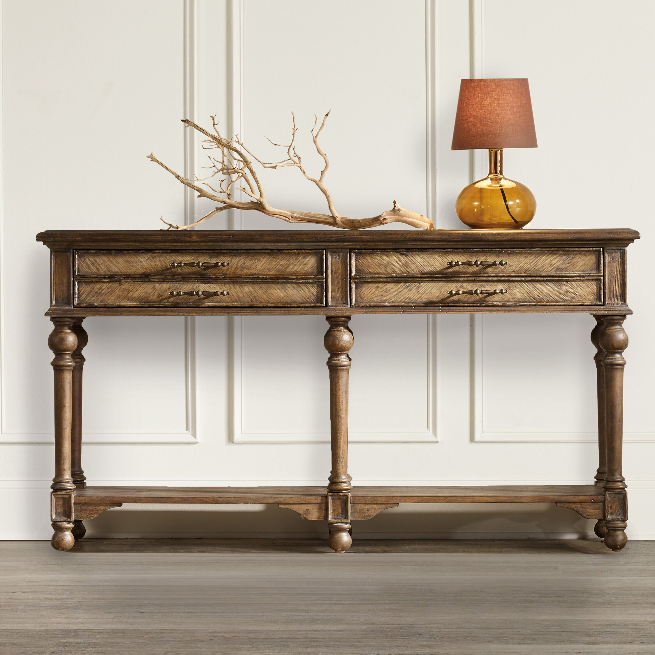 hooker furniture console table reviews wayfair. Black Bedroom Furniture Sets. Home Design Ideas