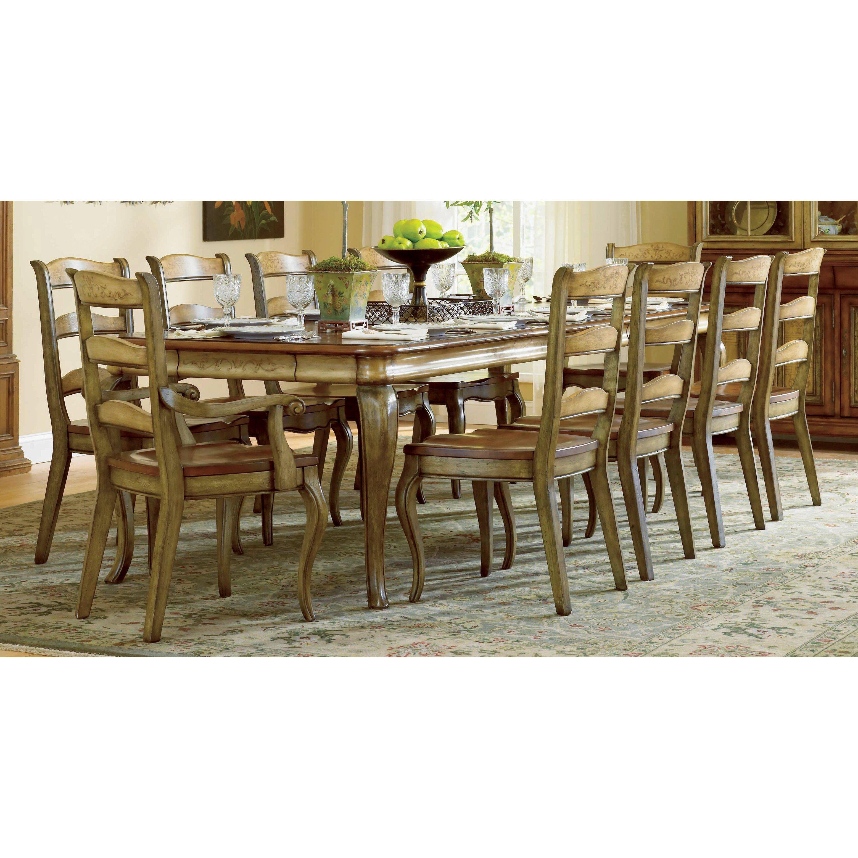 Hooker furniture vineyard dining table wayfair for Wayfair furniture dining tables