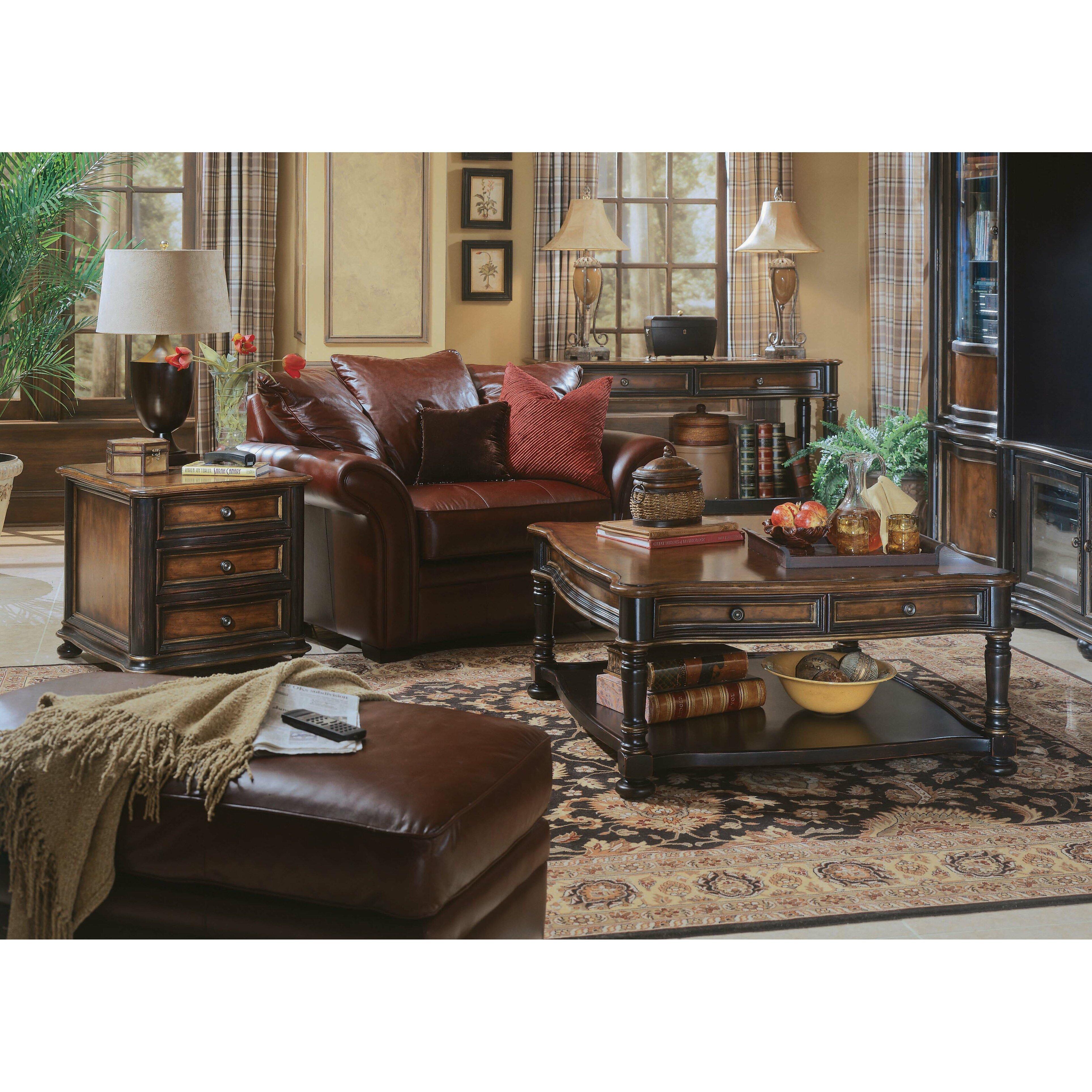 Rugs Furniture: Hooker Furniture Preston Ridge Coffee Table & Reviews