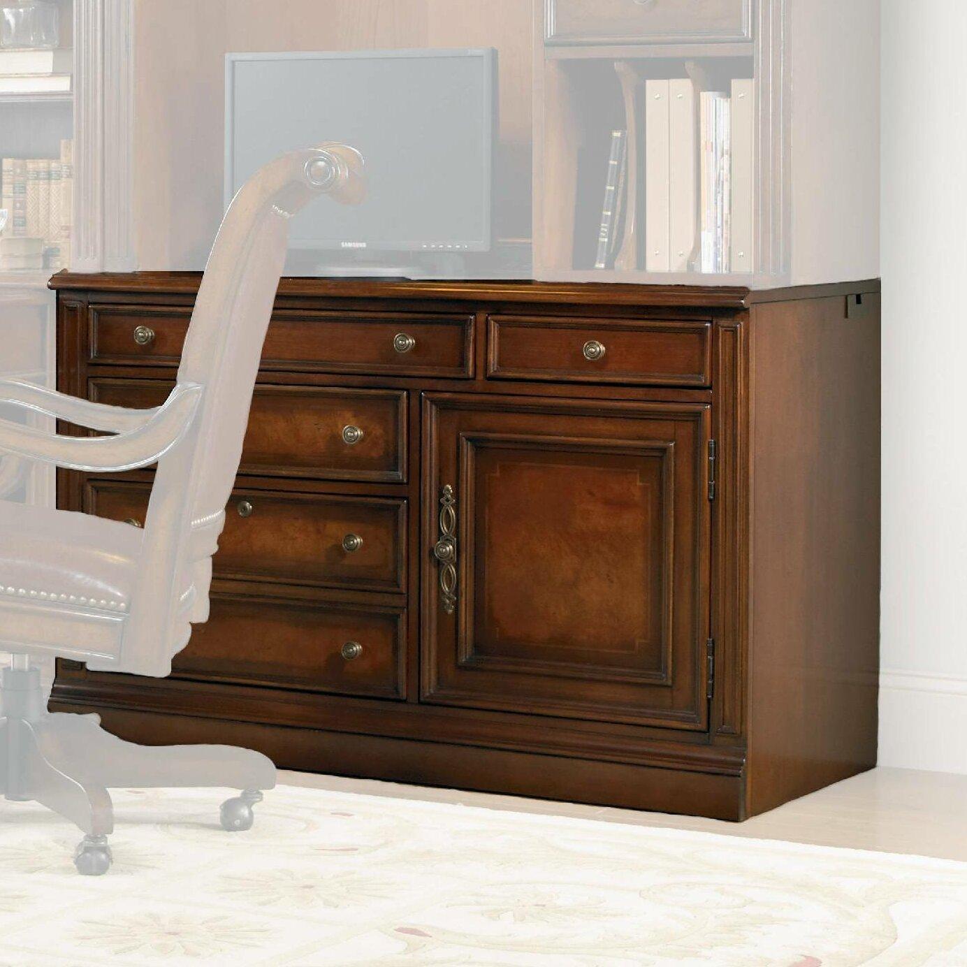 Hooker Furniture European Renaissance Ii Standard Desk Office Suite Reviews Wayfair Supply