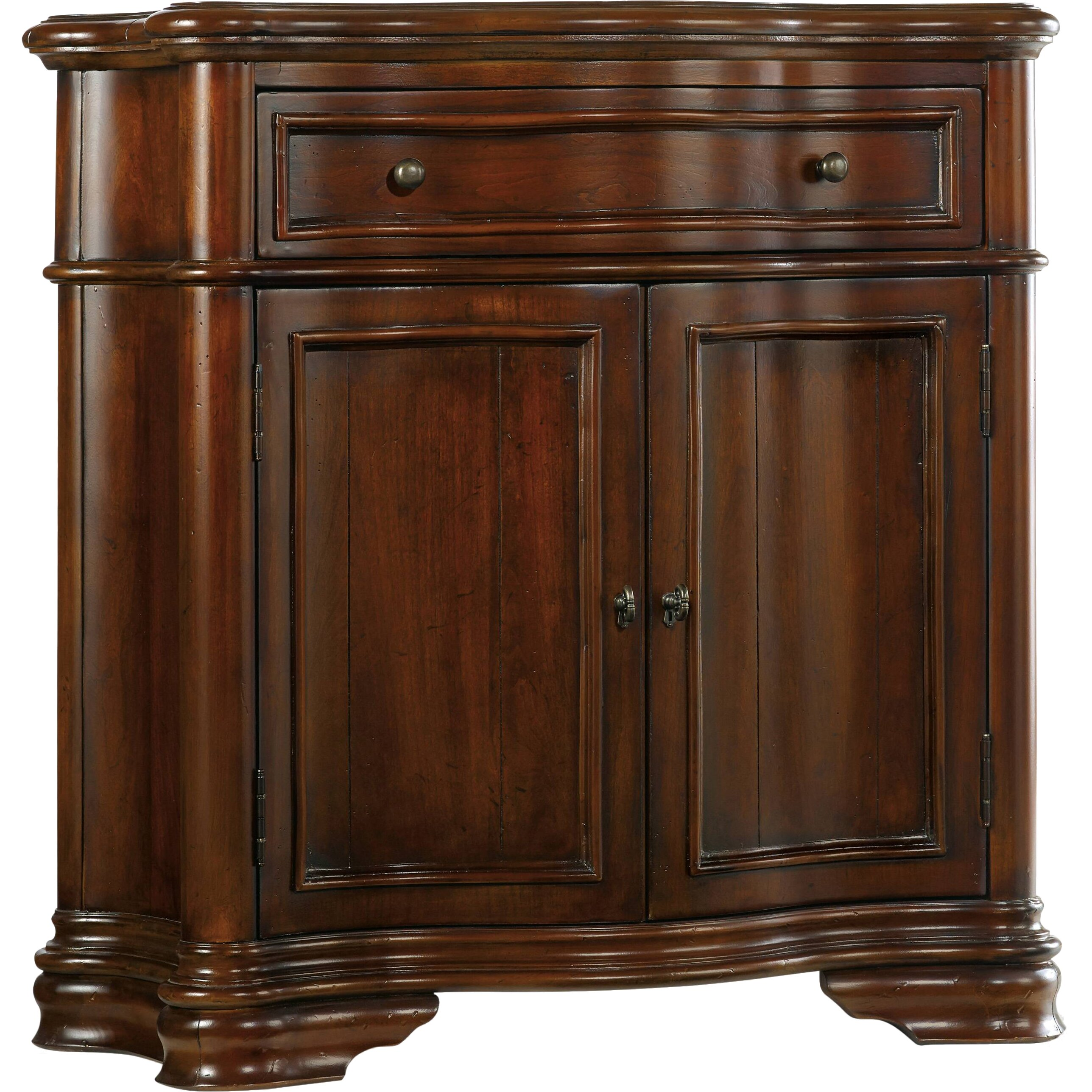That Furniture Place: Hooker Furniture Waverly Place Shaped Hall Console Cabinet