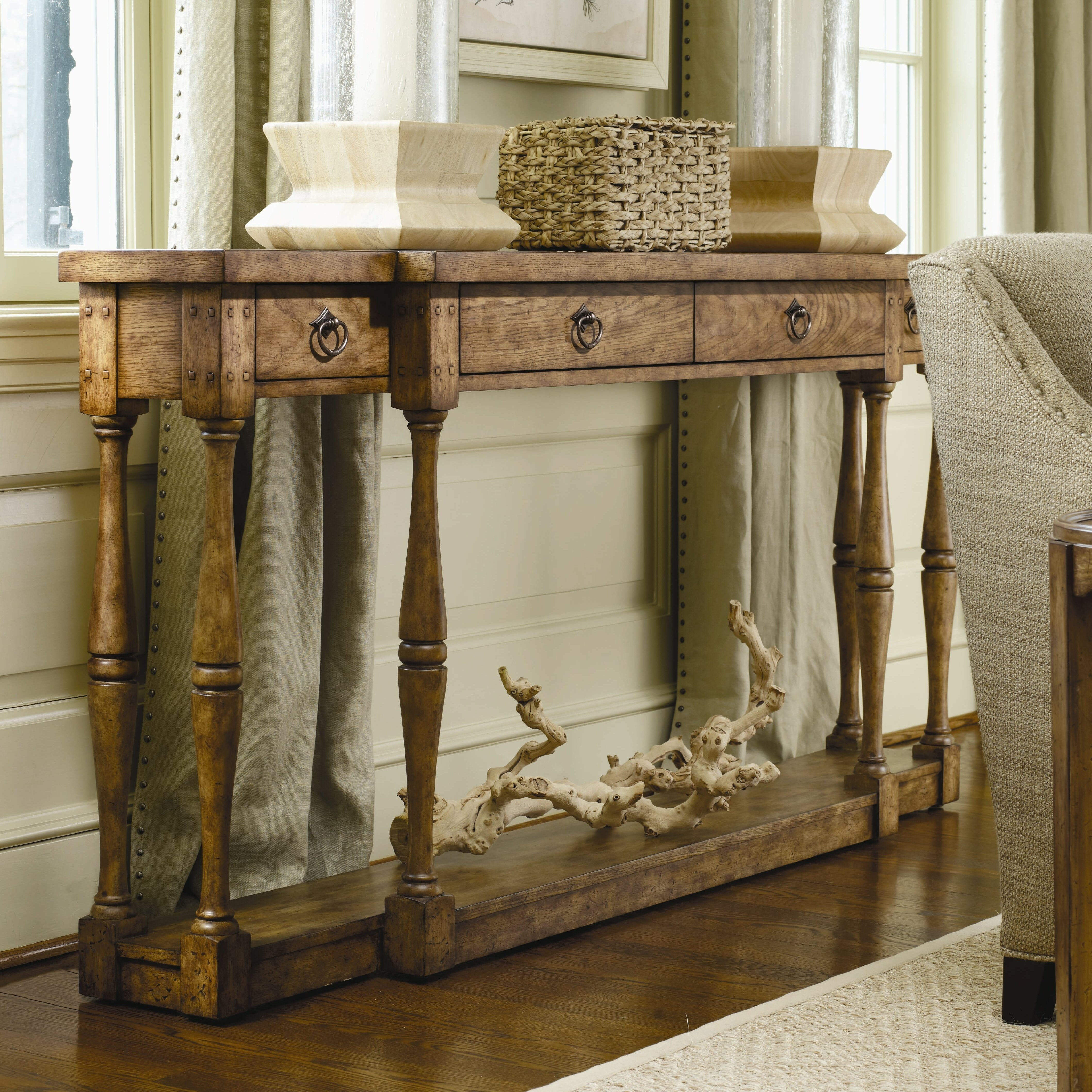Hooker Furniture Sanctuary 4 Drawer Console Table
