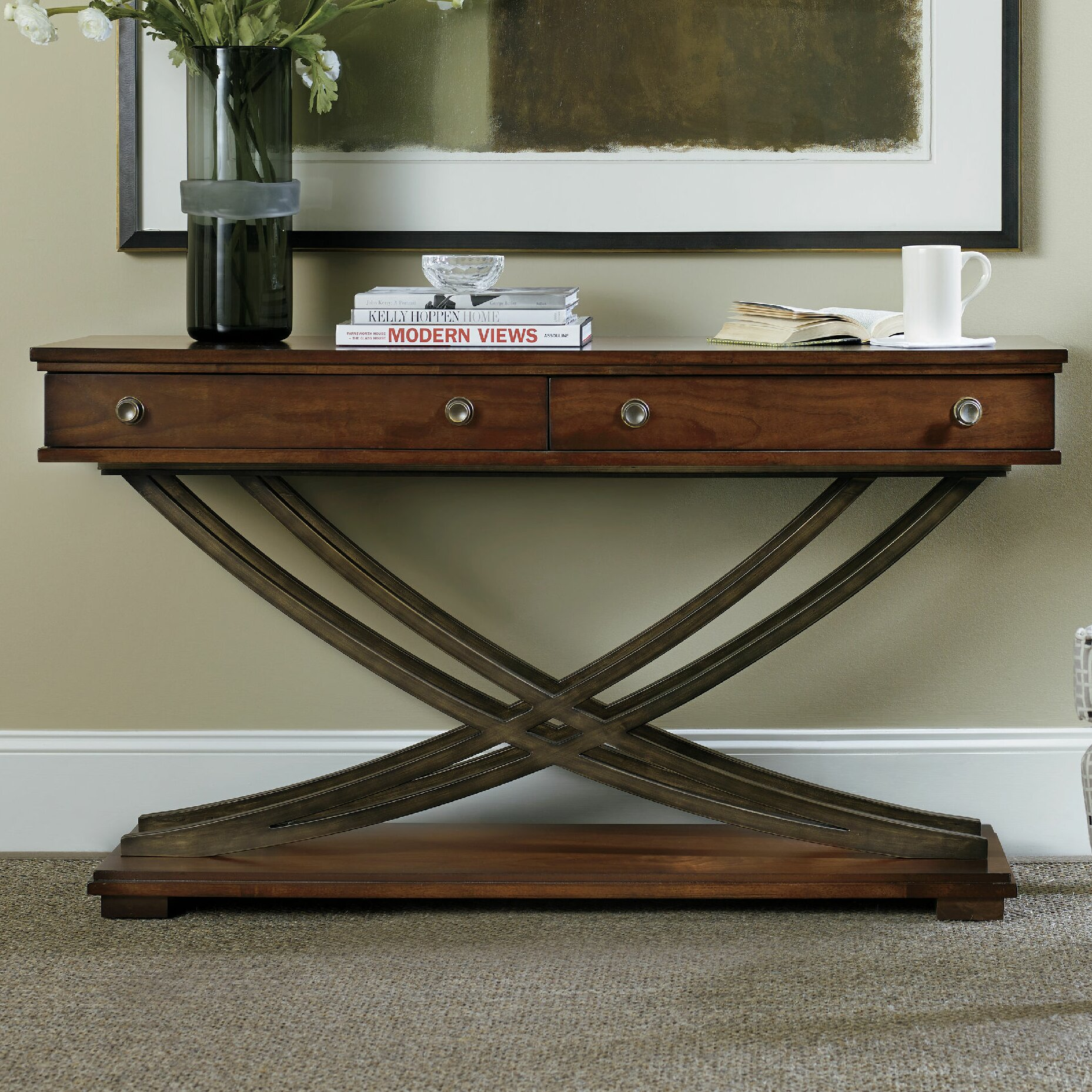 Hooker Furniture Palisade Console Table Wayfair