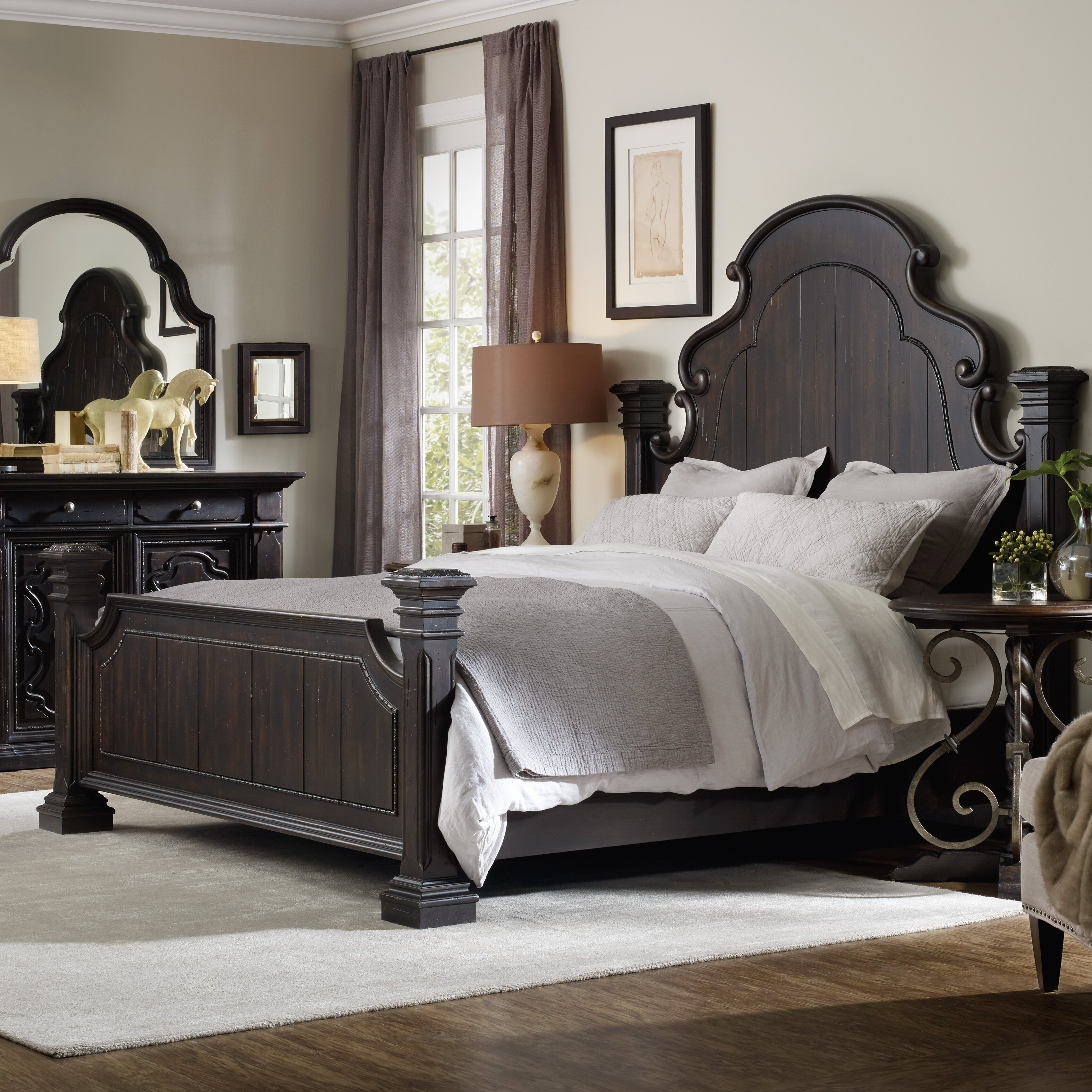 Hooker Furniture Treviso Panel Customizable Bedroom Set Wayfair