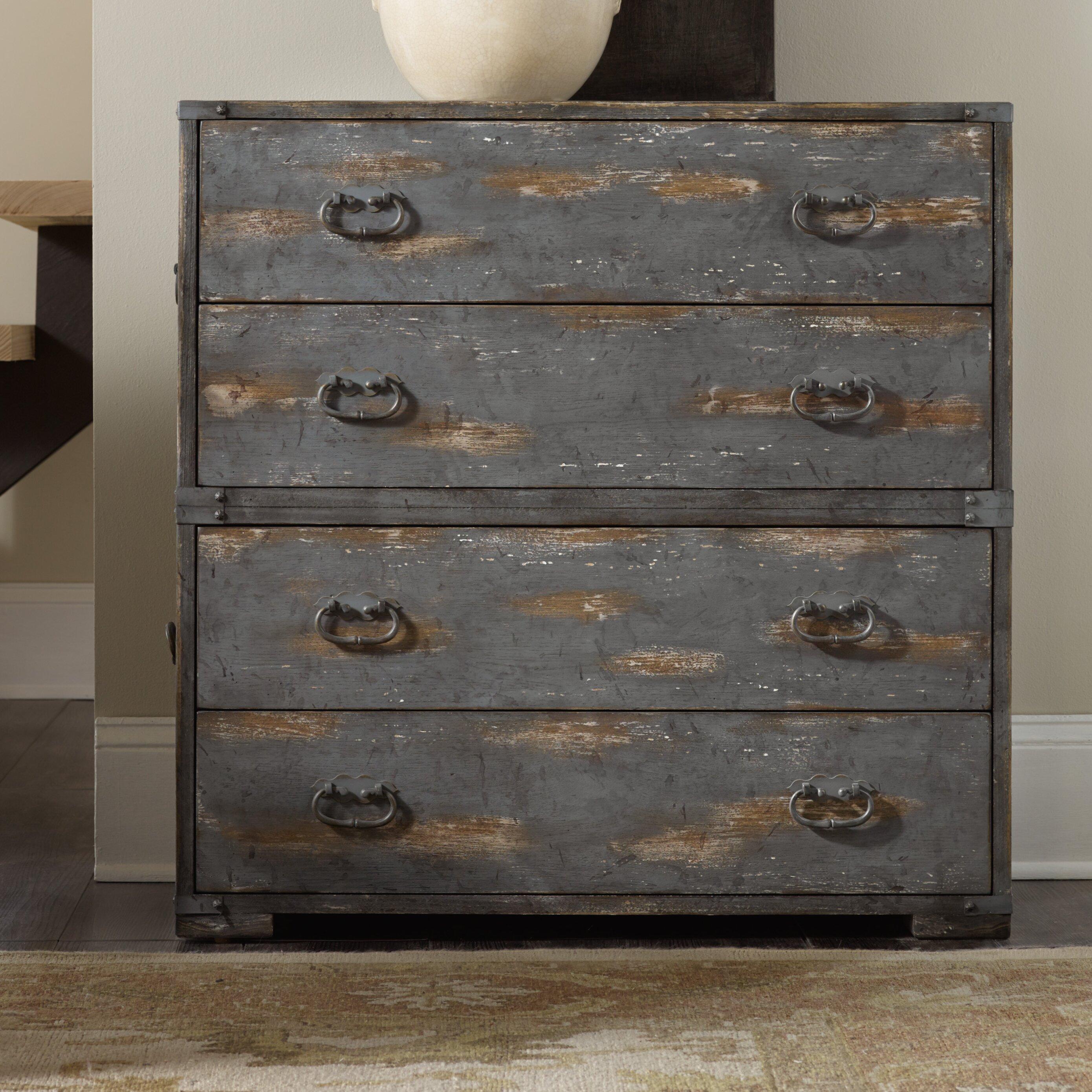 Hooker Furniture 4 Drawer Accent Chest Wayfair Ca