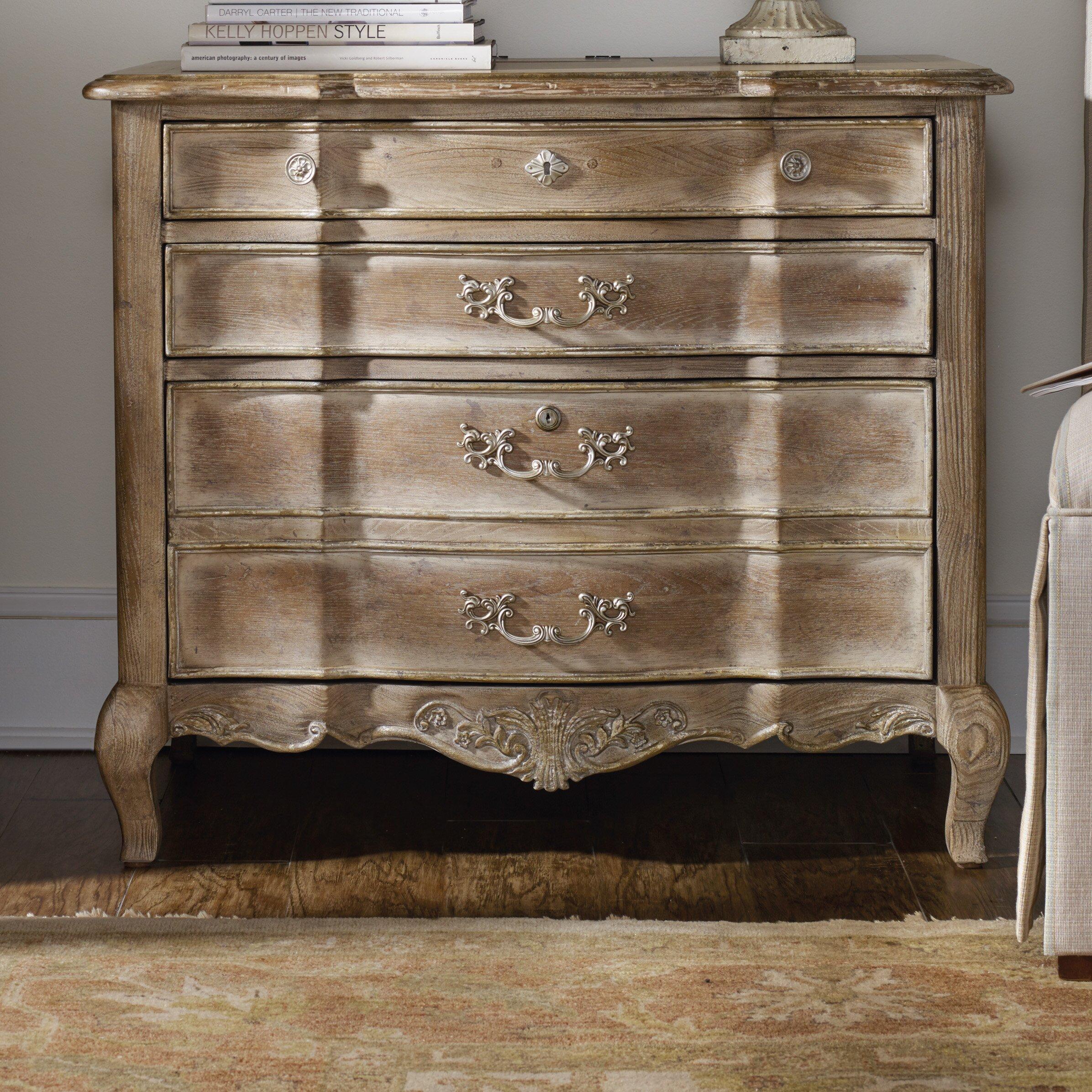 Hooker furniture la maison du travial 4 drawer lateral for A la maison furniture
