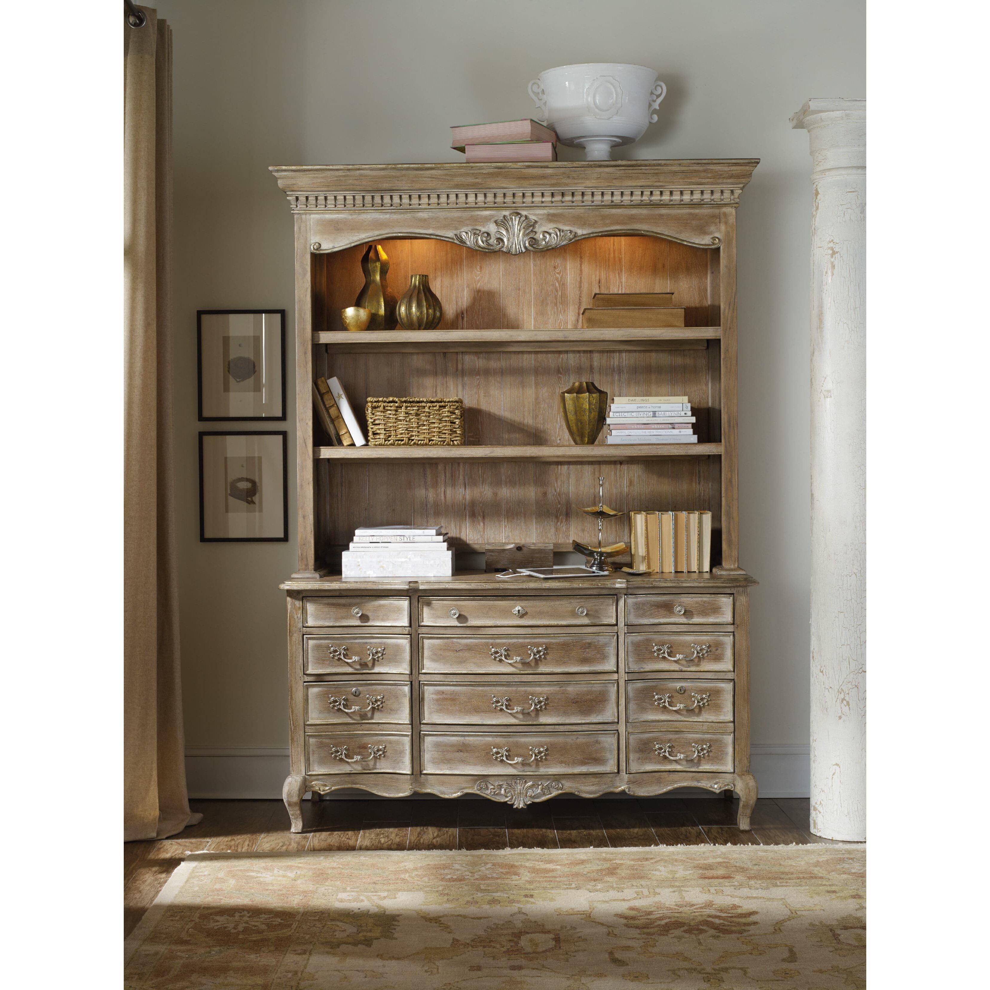 Hooker furniture la maison du travial credenza desk for A la maison furniture