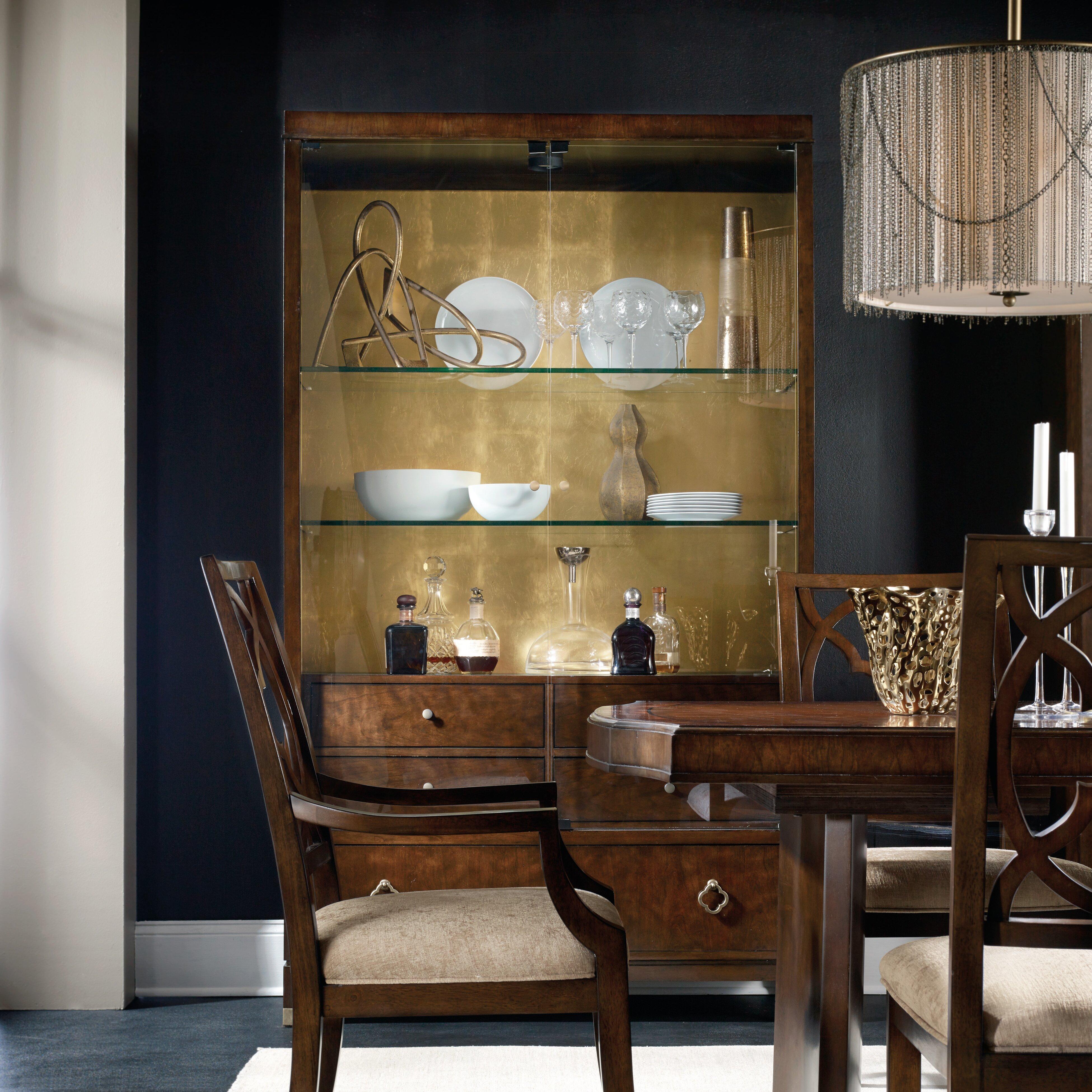 Hooker Furniture Skyline Display Stand Reviews Wayfair