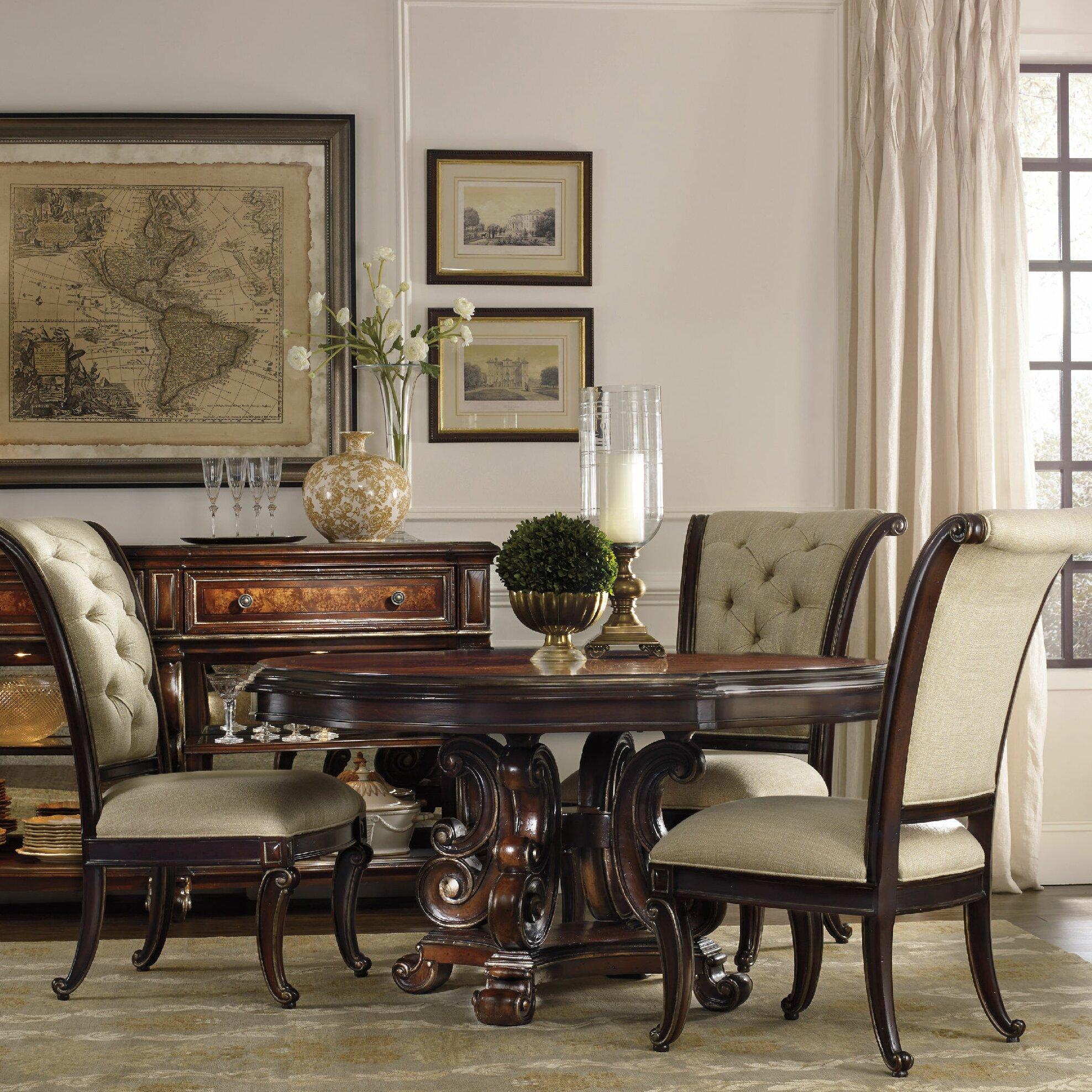 hooker furniture grand palais dining table base wayfair