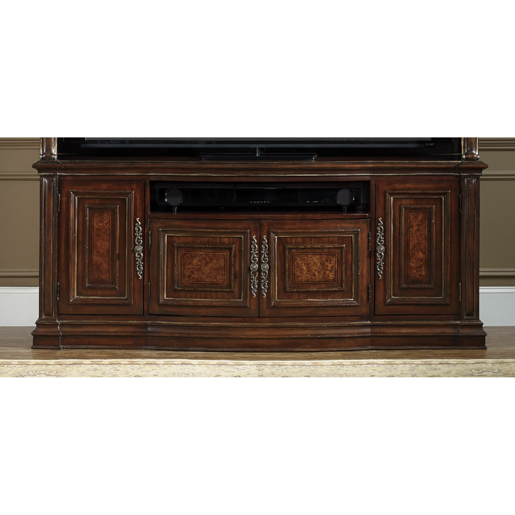 hooker furniture grand palais tv stand wayfair