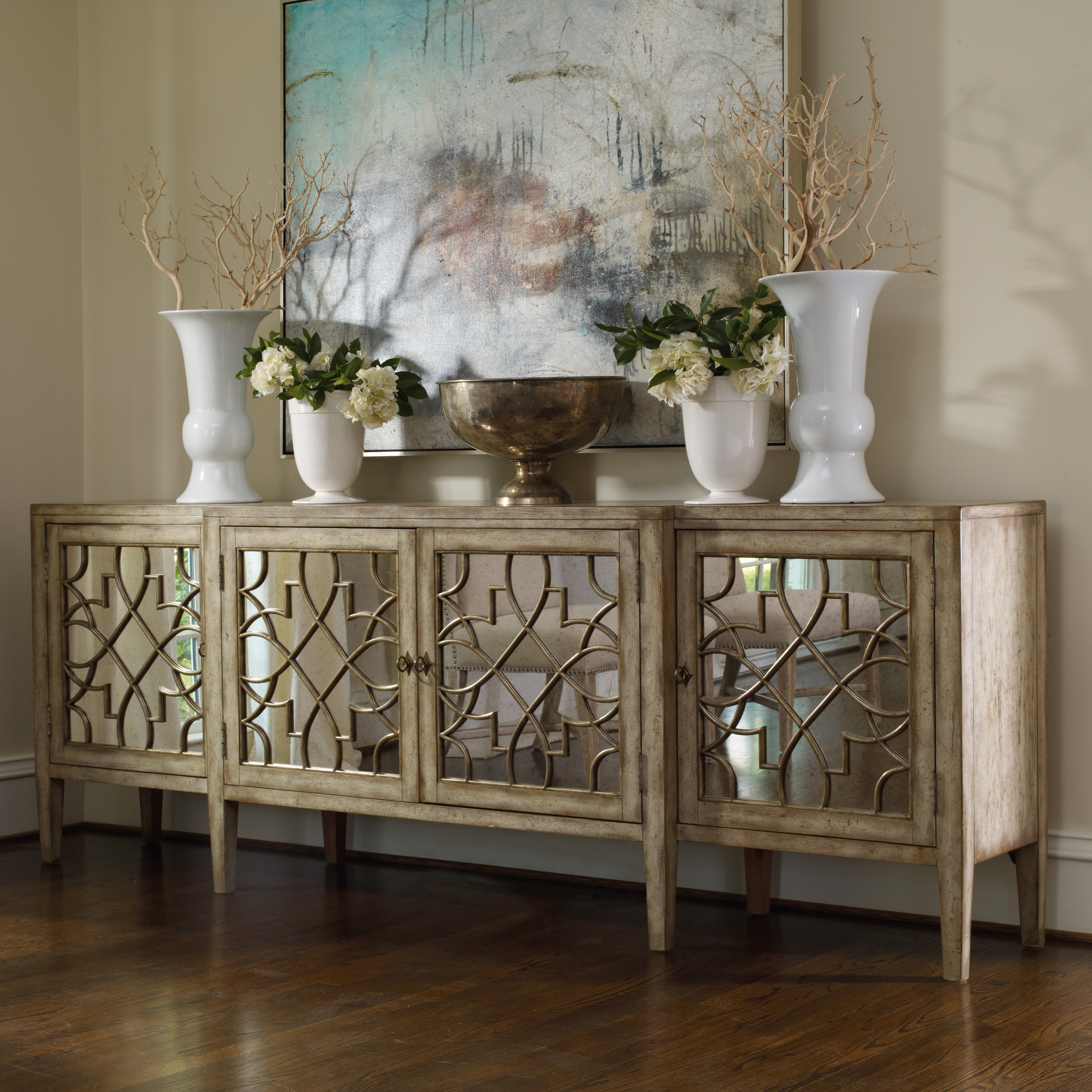 Wayfair Com Furniture: Hooker Furniture Mirrored Server & Reviews