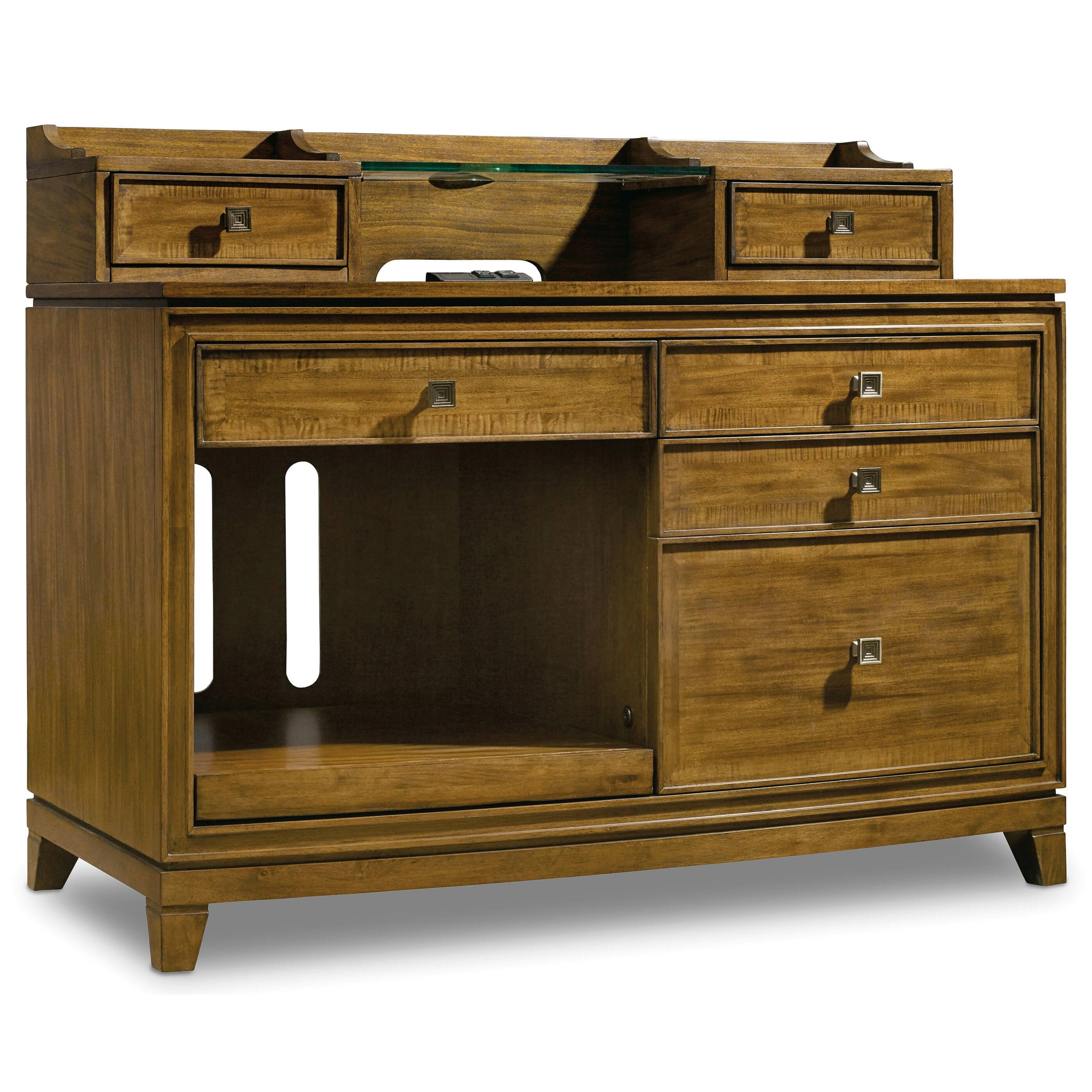 Hooker Furniture Retropolitan Credenza Desk With Hutch Wayfair