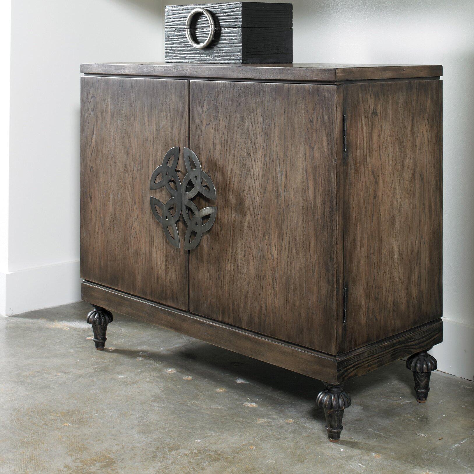 Hooker Furniture Melange Savion Cabinet Reviews Wayfair