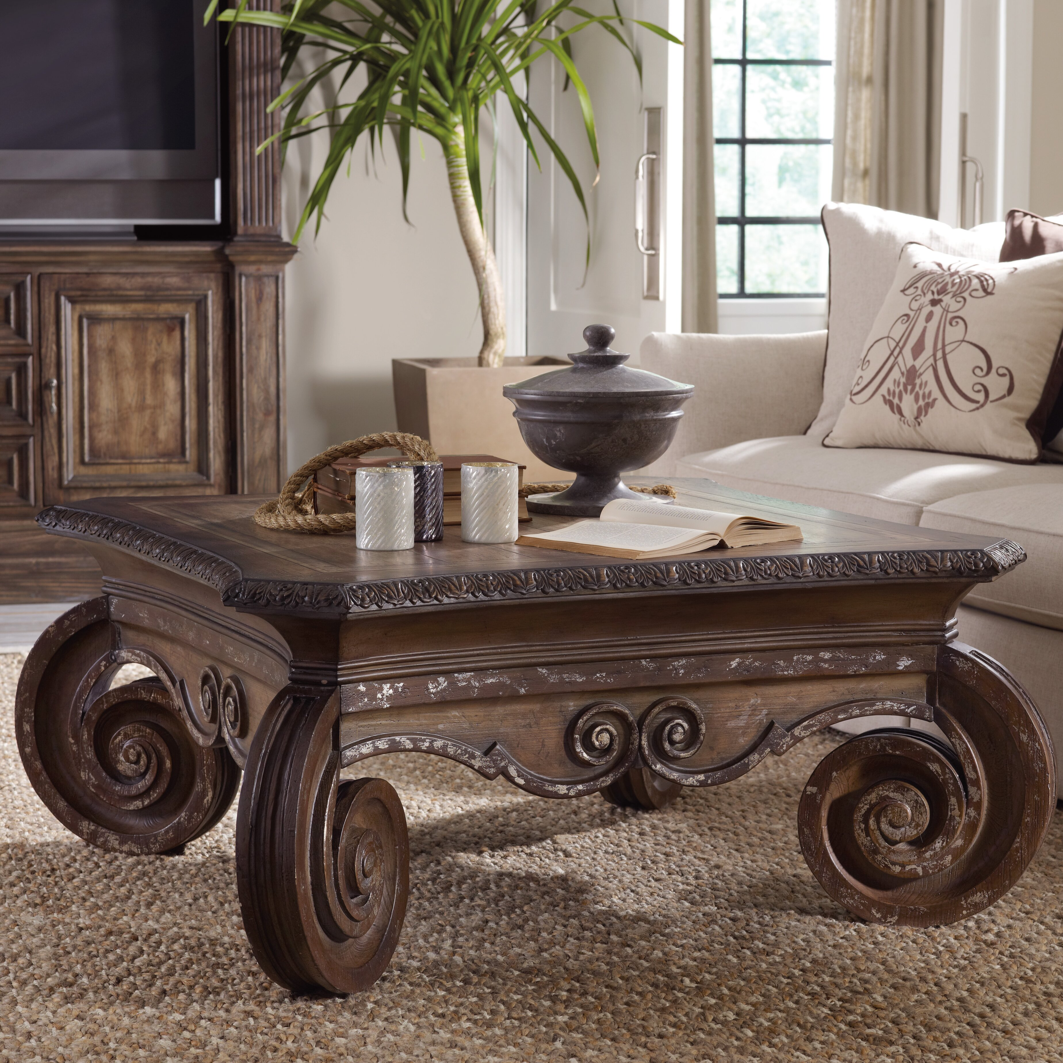 Hooker Furniture Shaina Coffee Table Amp Reviews Wayfair