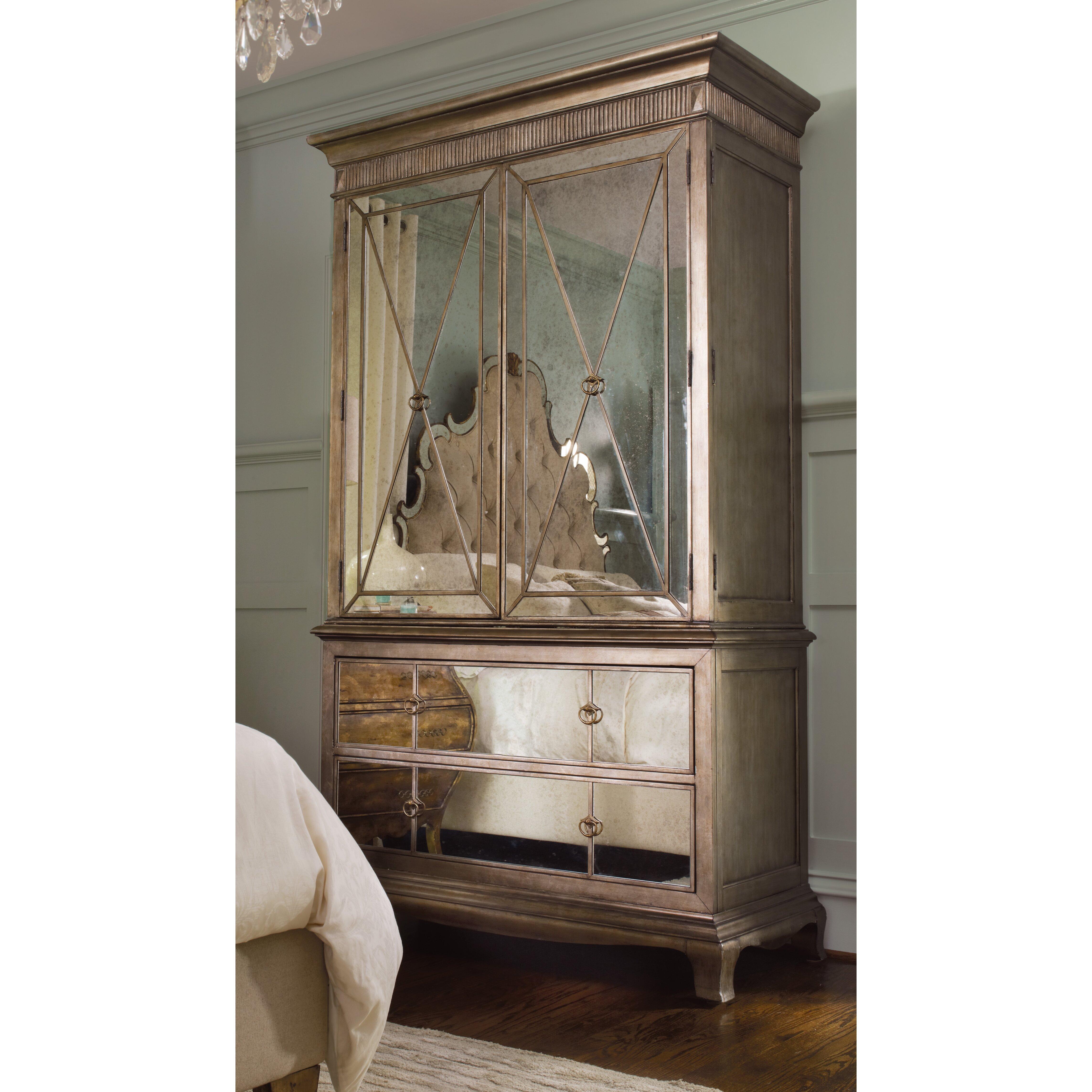 Hooker Furniture Sanctuary Armoire Reviews Wayfair