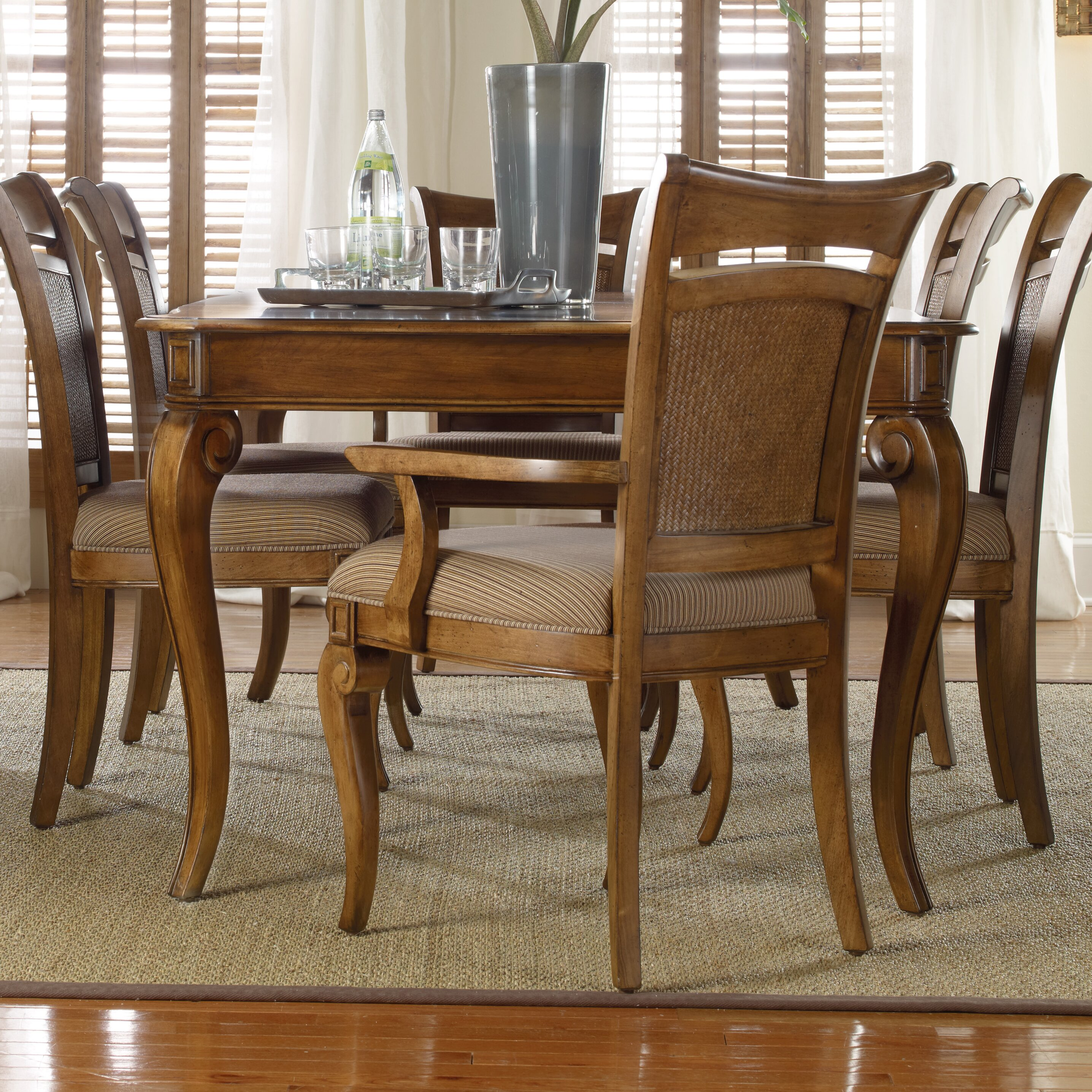 Hooker furniture windward dining table reviews wayfair