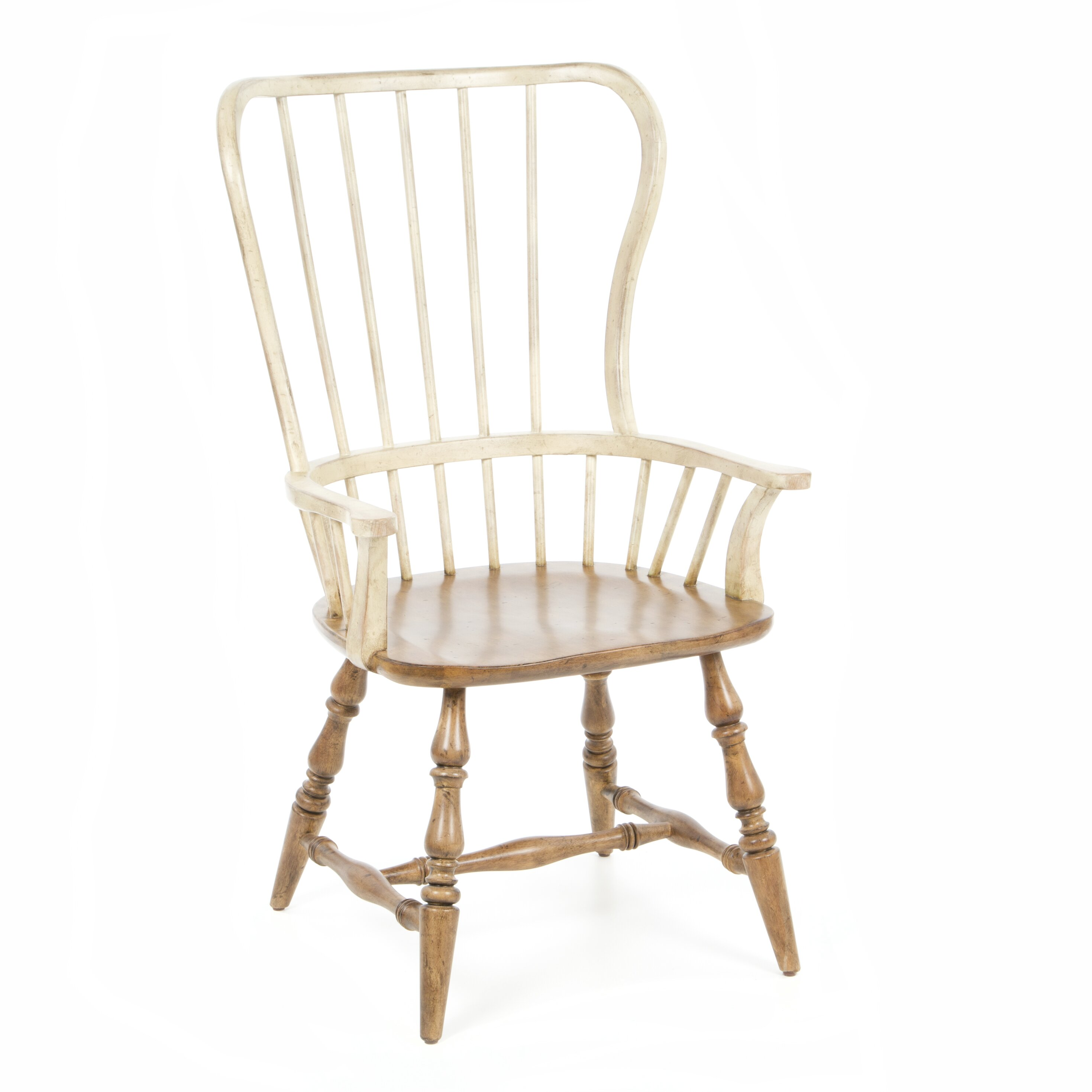 Hooker furniture sanctuary spindle back arm chair for Furniture 2 day shipping