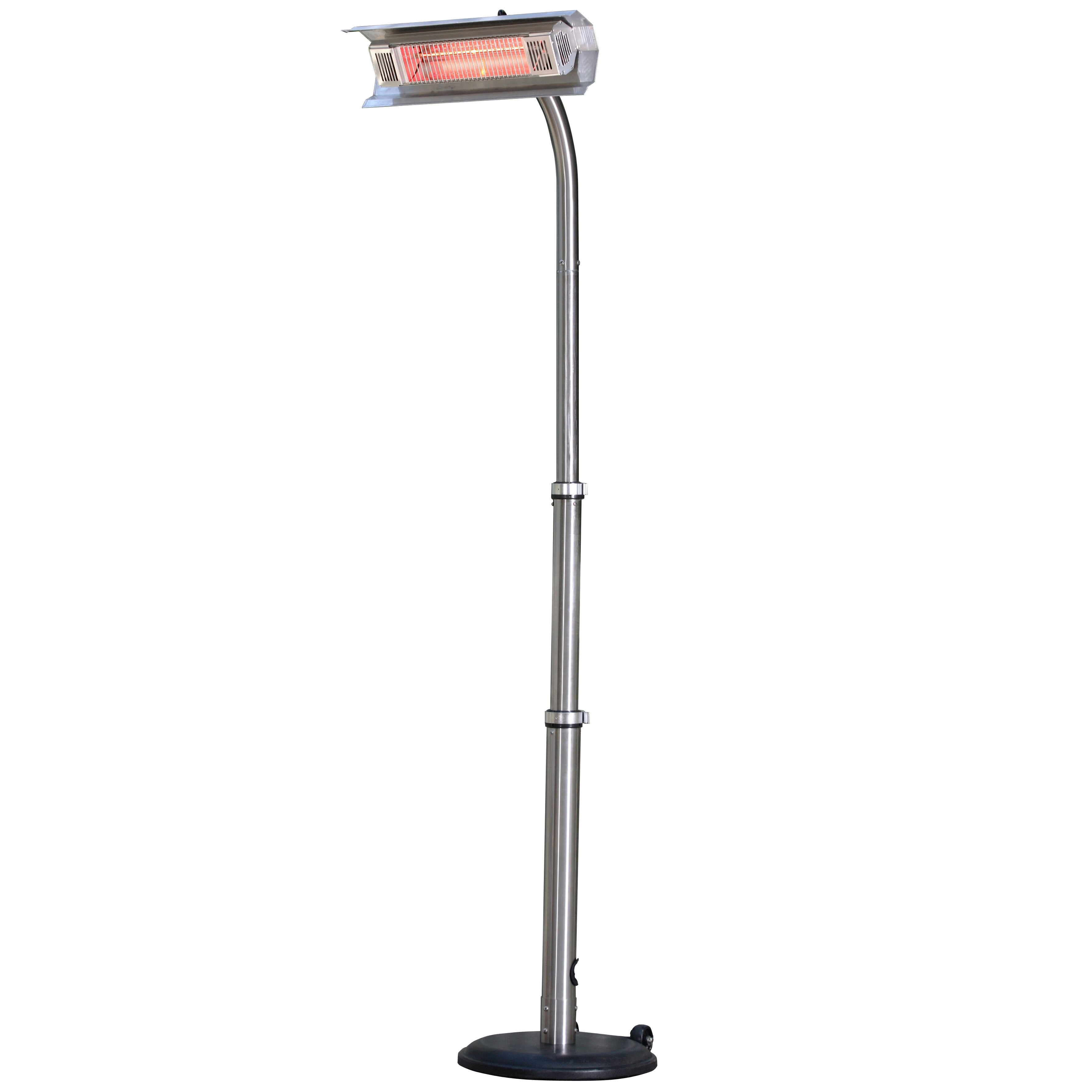 fire sense electric pole mounted patio heater reviews