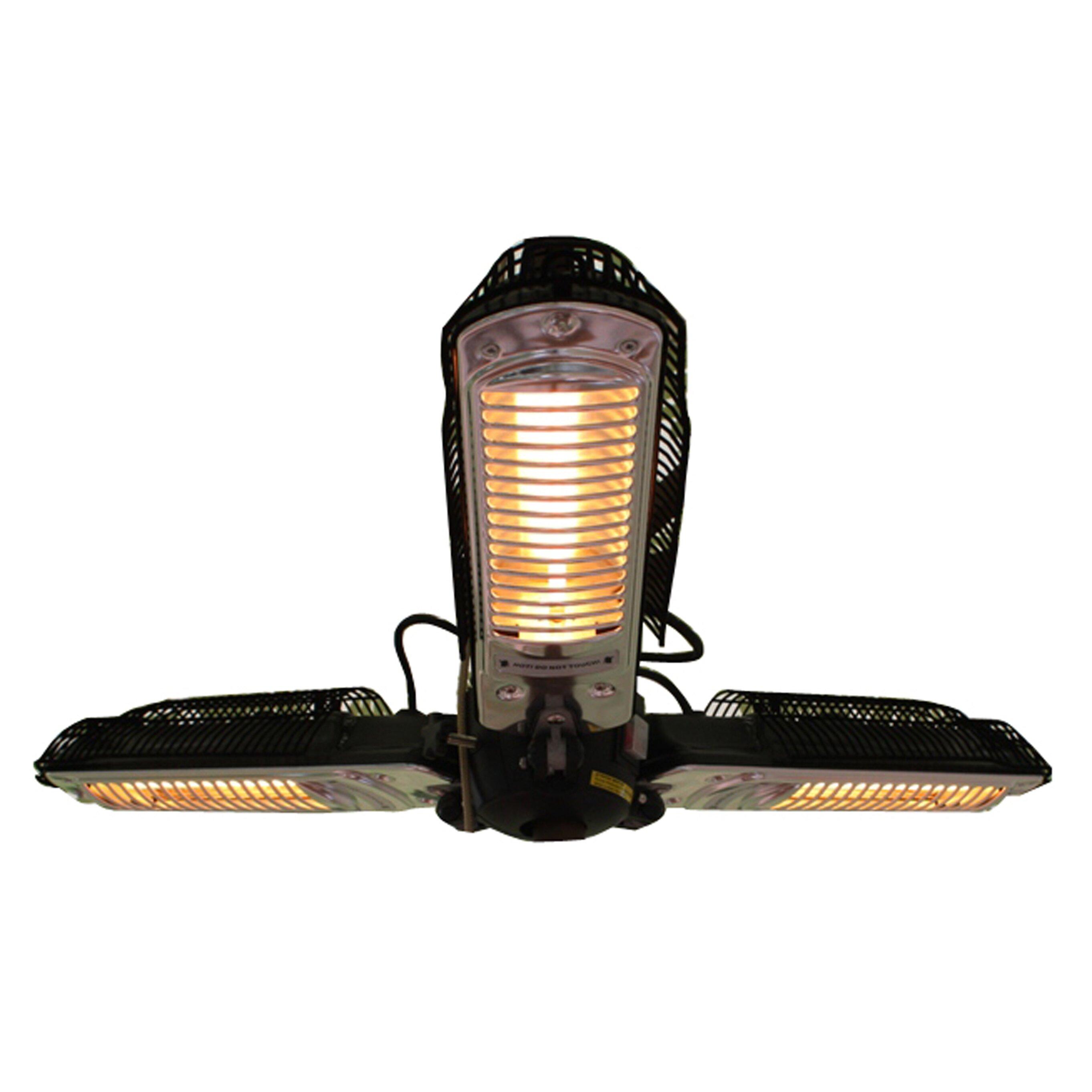 Fire Sense Umbrella Electric Patio Heater & Reviews | Wayfair