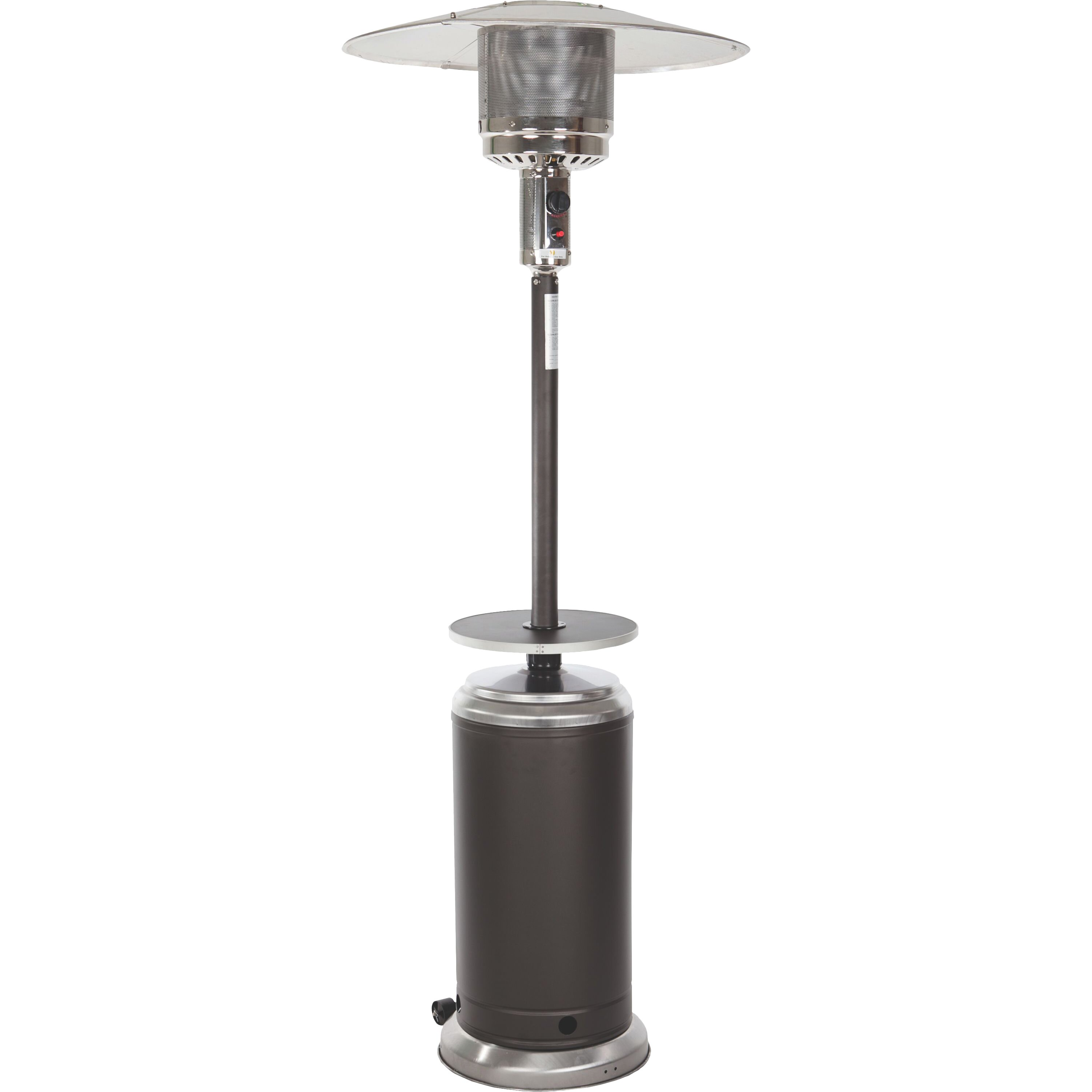 Stainless Steel Heaters : Fire sense stainless steel standard series propane patio