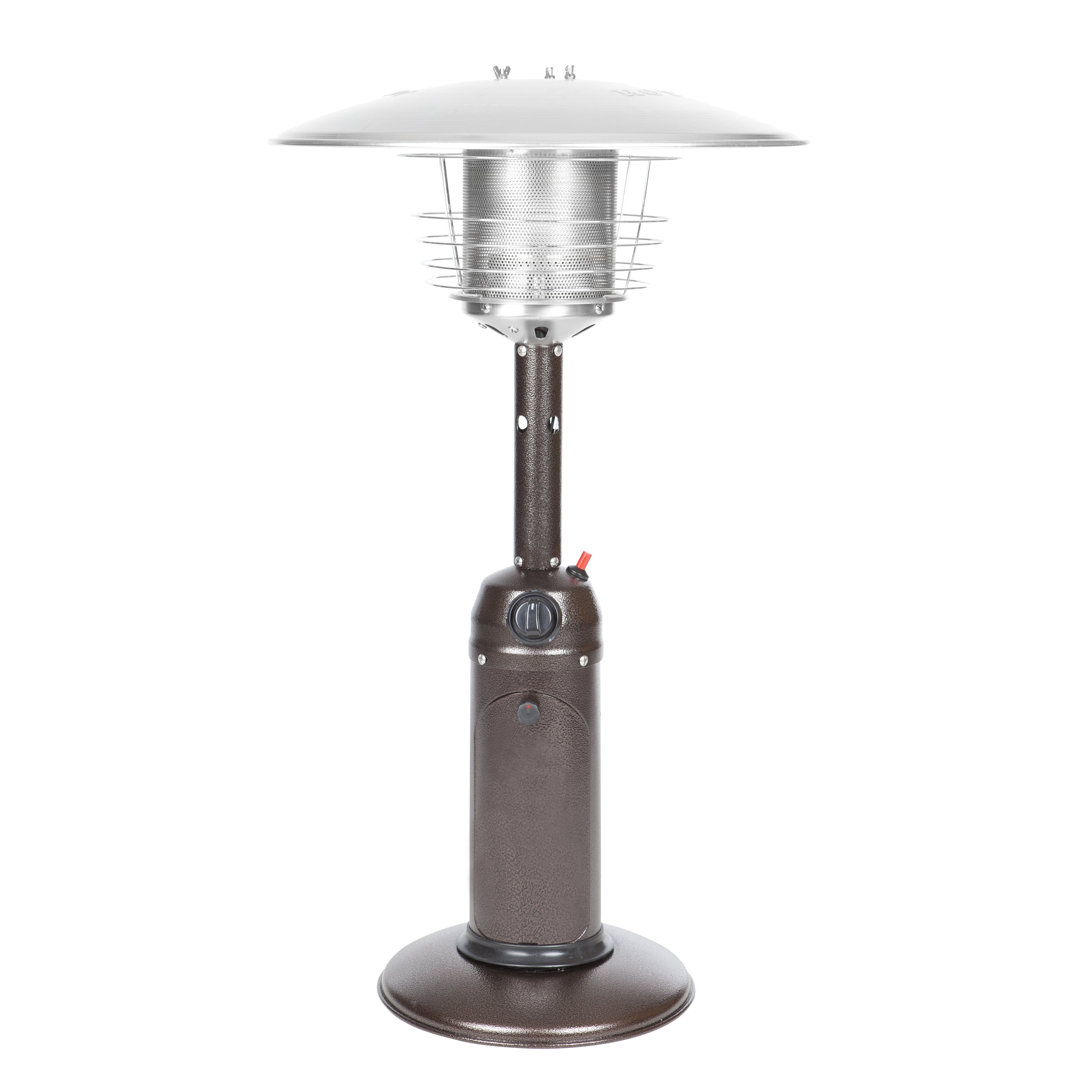 Fire sense tabletop propane patio heater reviews wayfair for Tabletop patio heater reviews