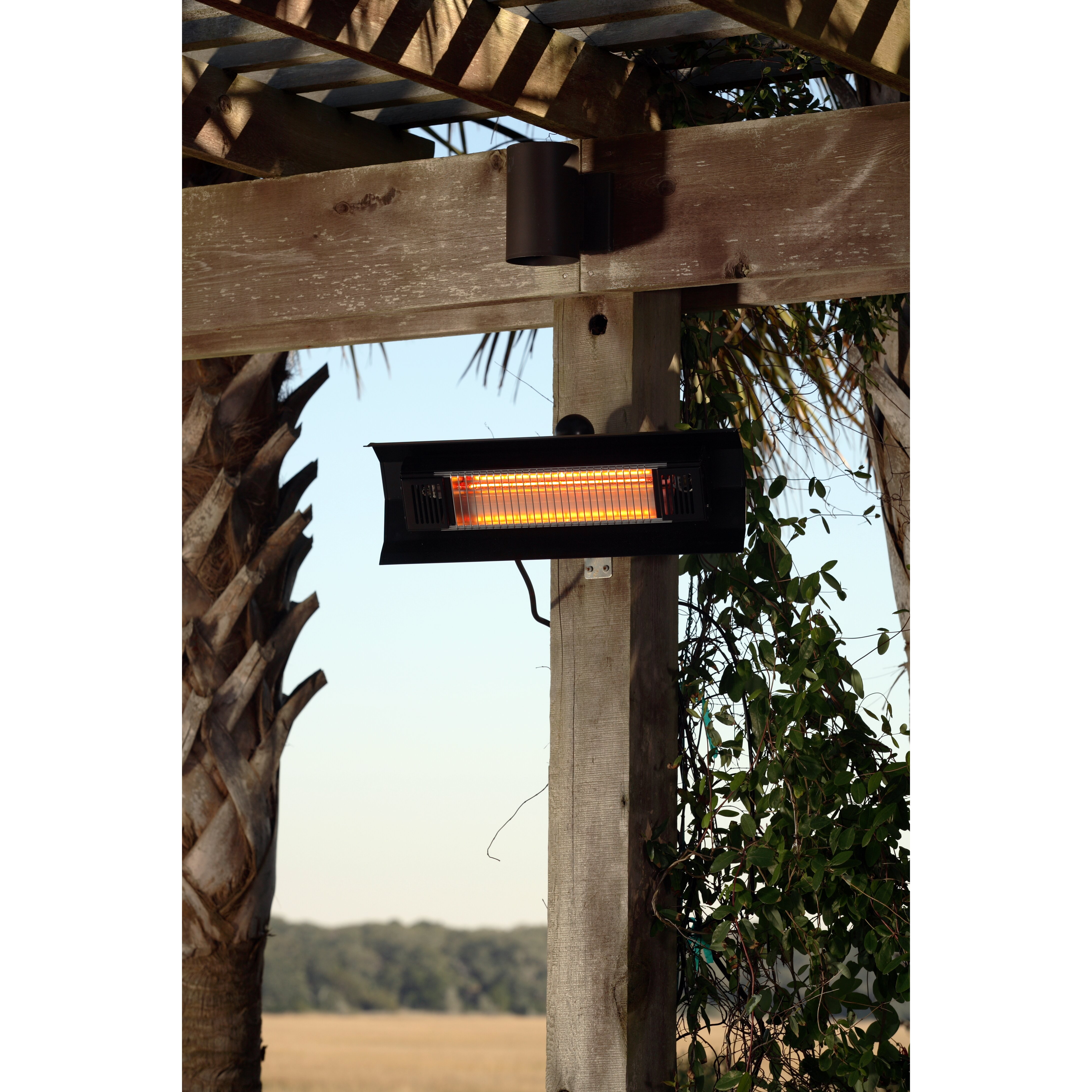 Fire Sense Wall Mounted Electric Patio Heater Amp Reviews