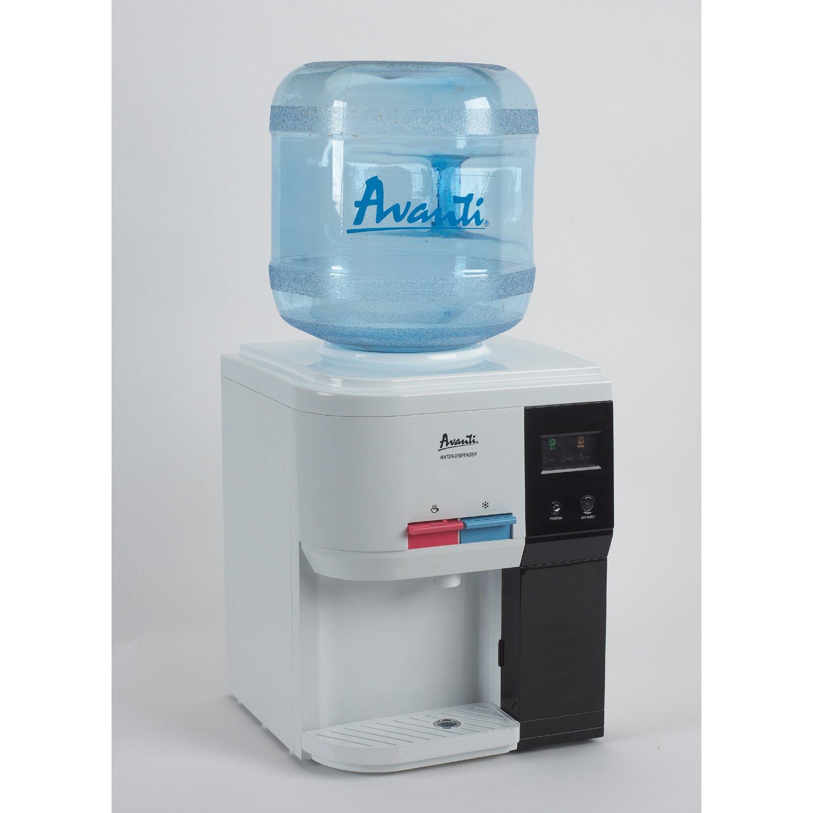 Countertop Hot And Cold Water Dispenser : Avanti Countertop Hot and Cold Water Cooler & Reviews Wayfair