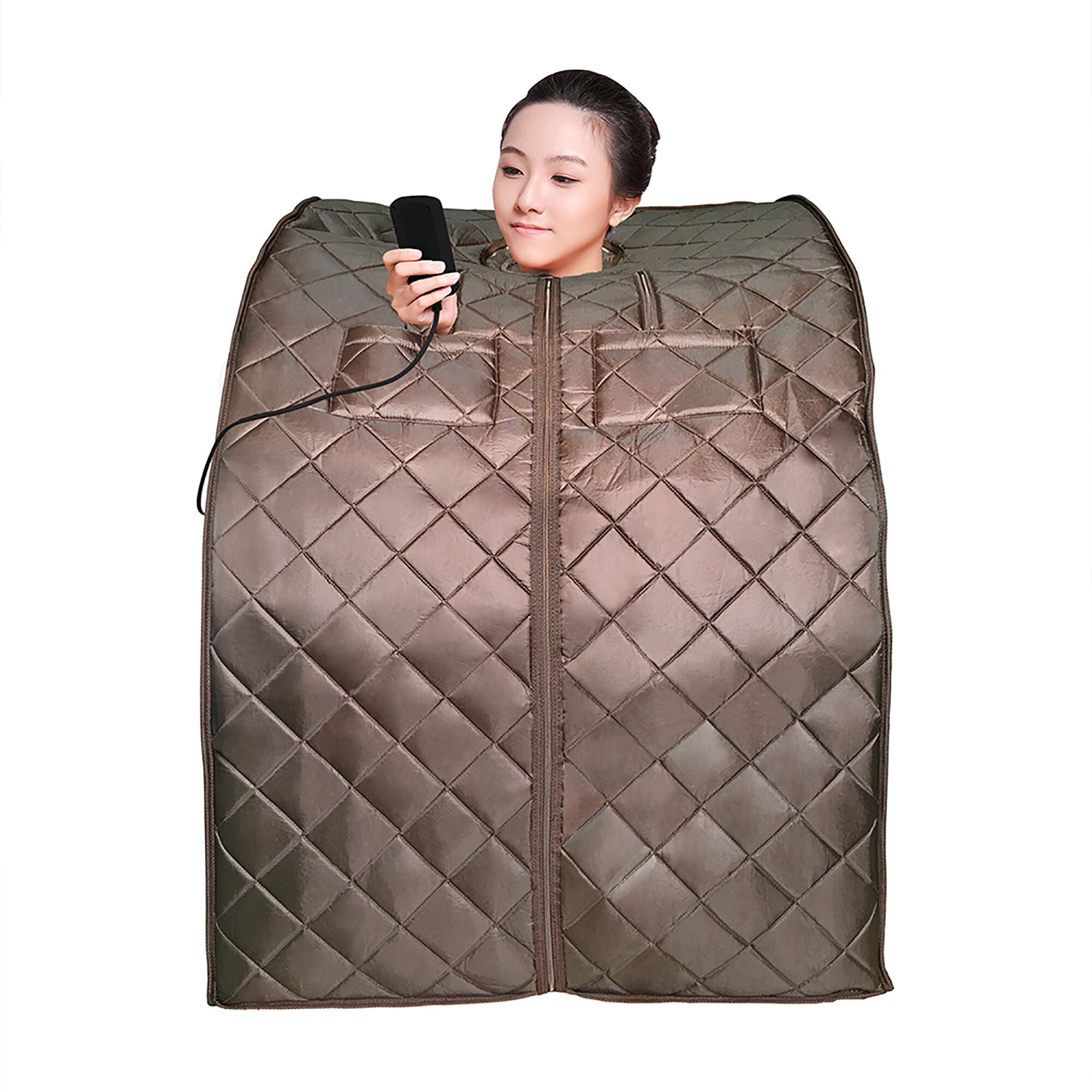 radiant saunas 1 person harmony deluxe electric heater sauna reviews wayfair. Black Bedroom Furniture Sets. Home Design Ideas