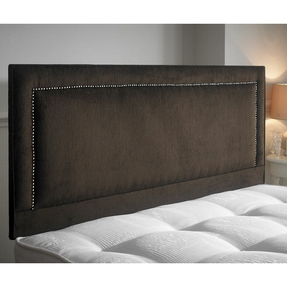M H Designs Maurise European King Upholstered Headboard
