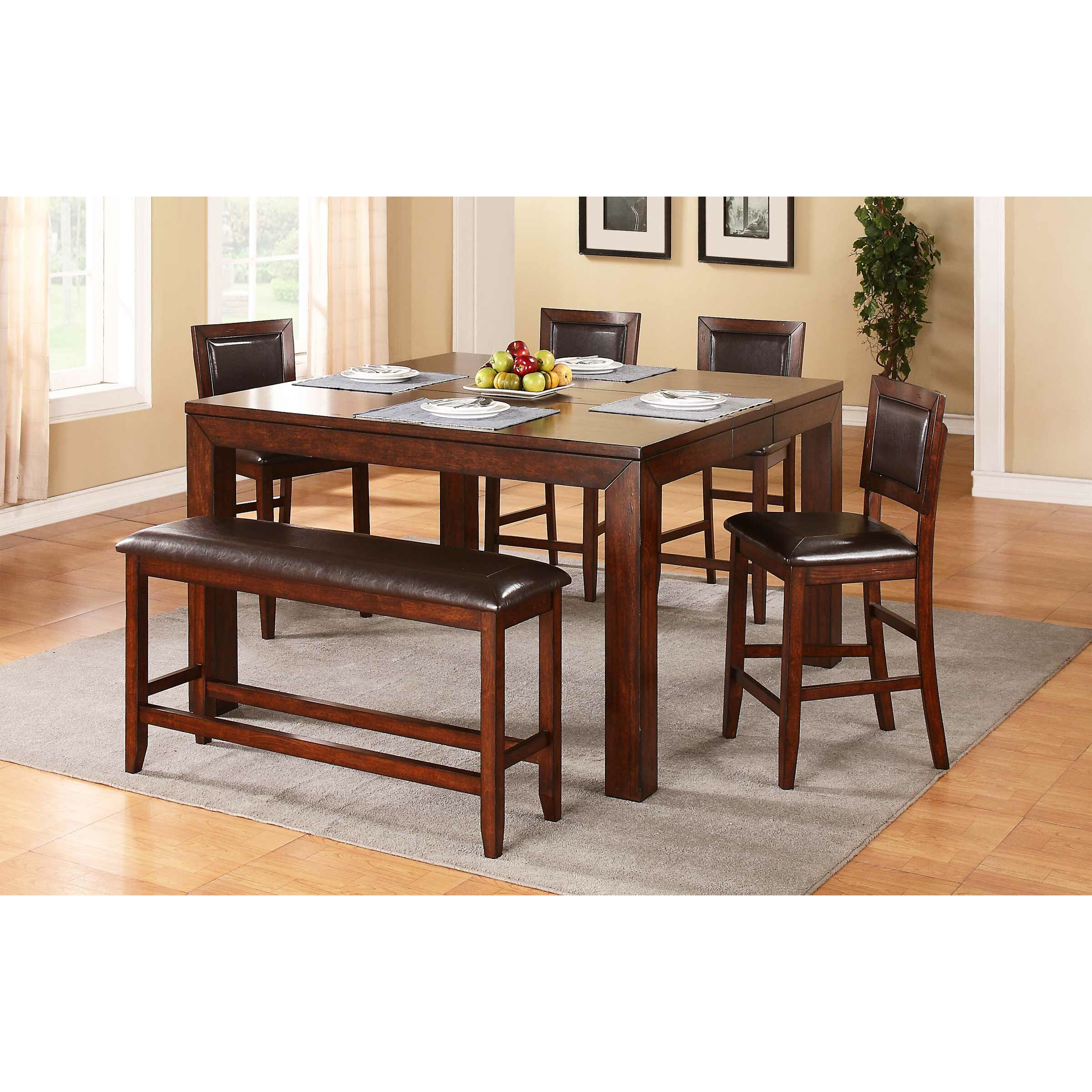 Winners Only, Inc. Fallbrook Wood Kitchen Bench & Reviews
