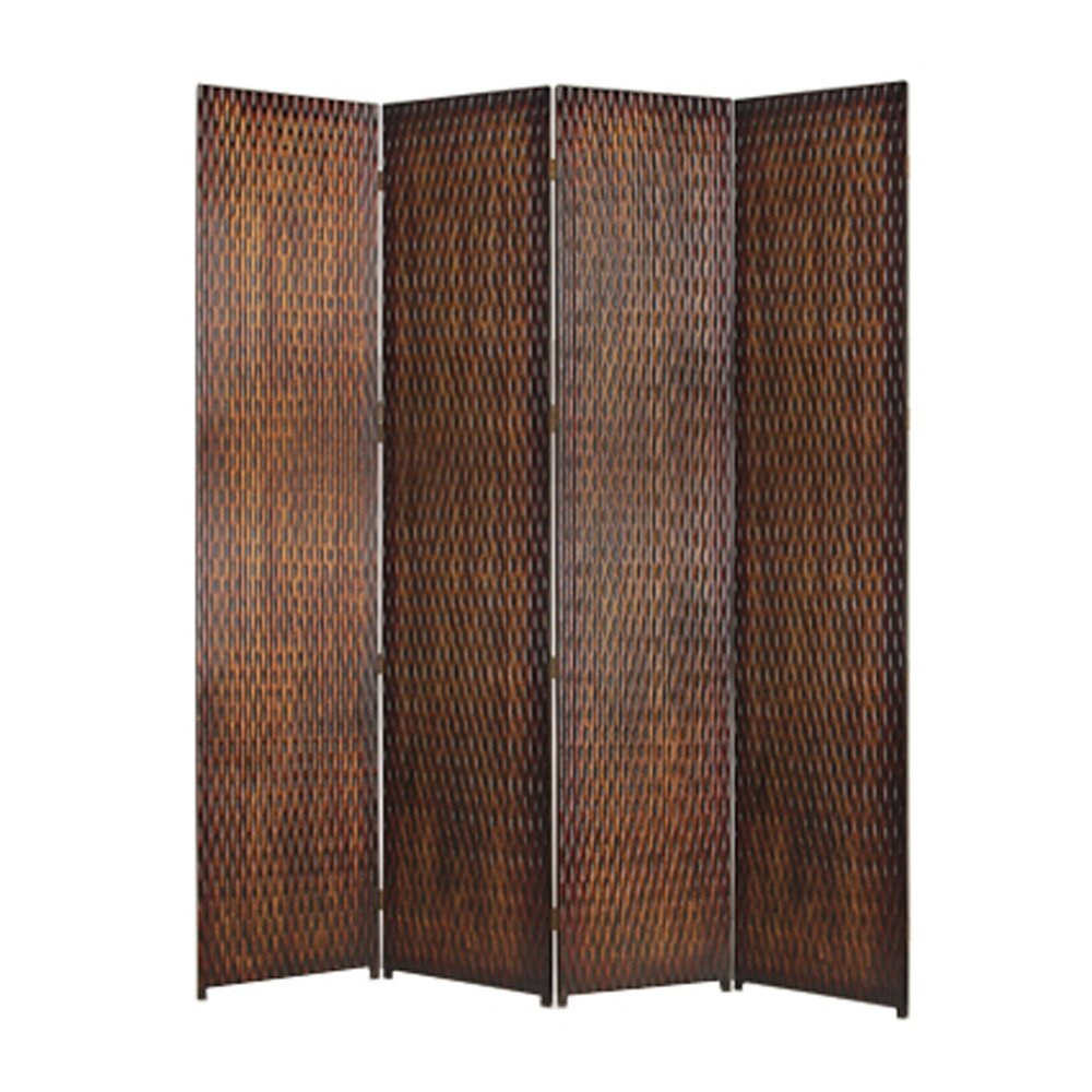 Screen Gems 84 X 84 Daryl 4 Panel Room Divider Wayfair