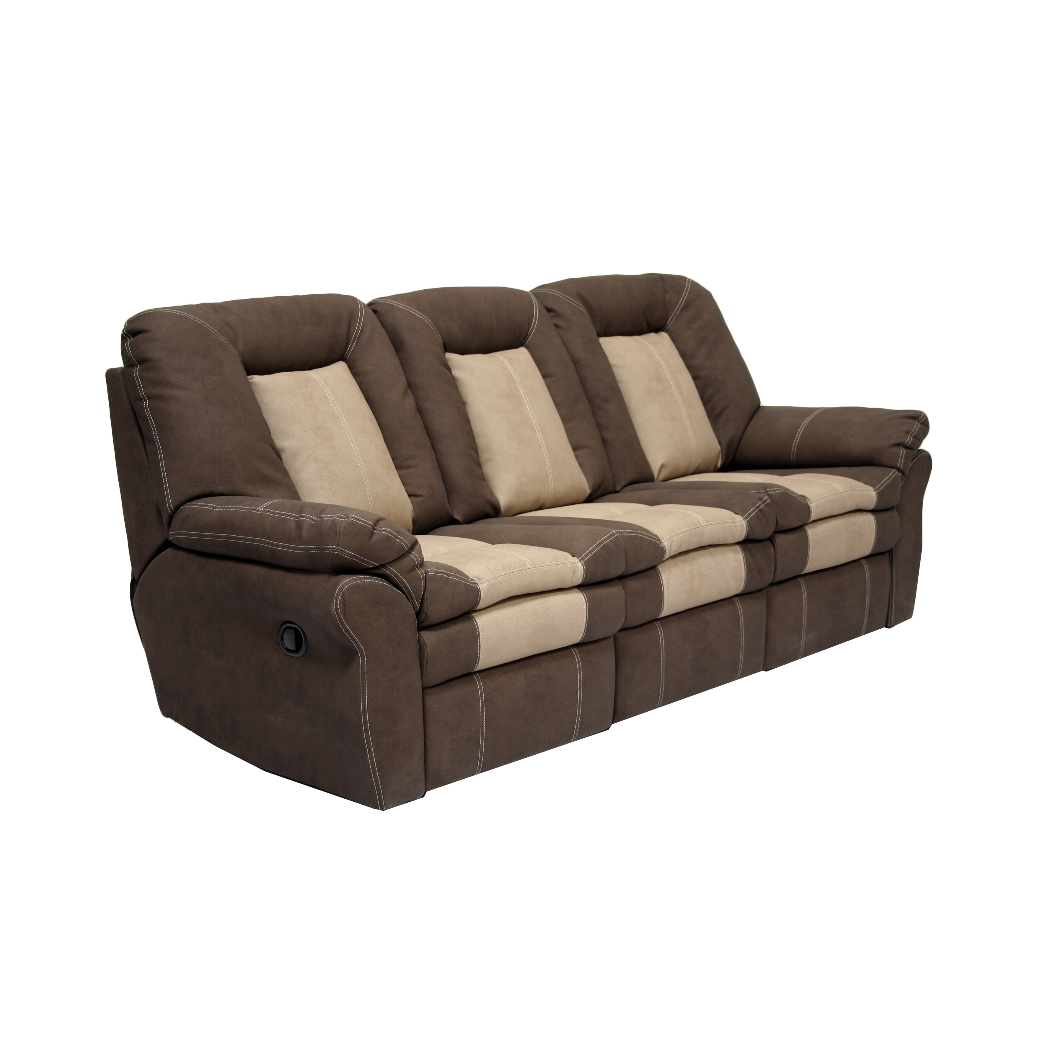 Ac Pacific Carson Plush Living Room Dual Reclining Sofa Wayfair