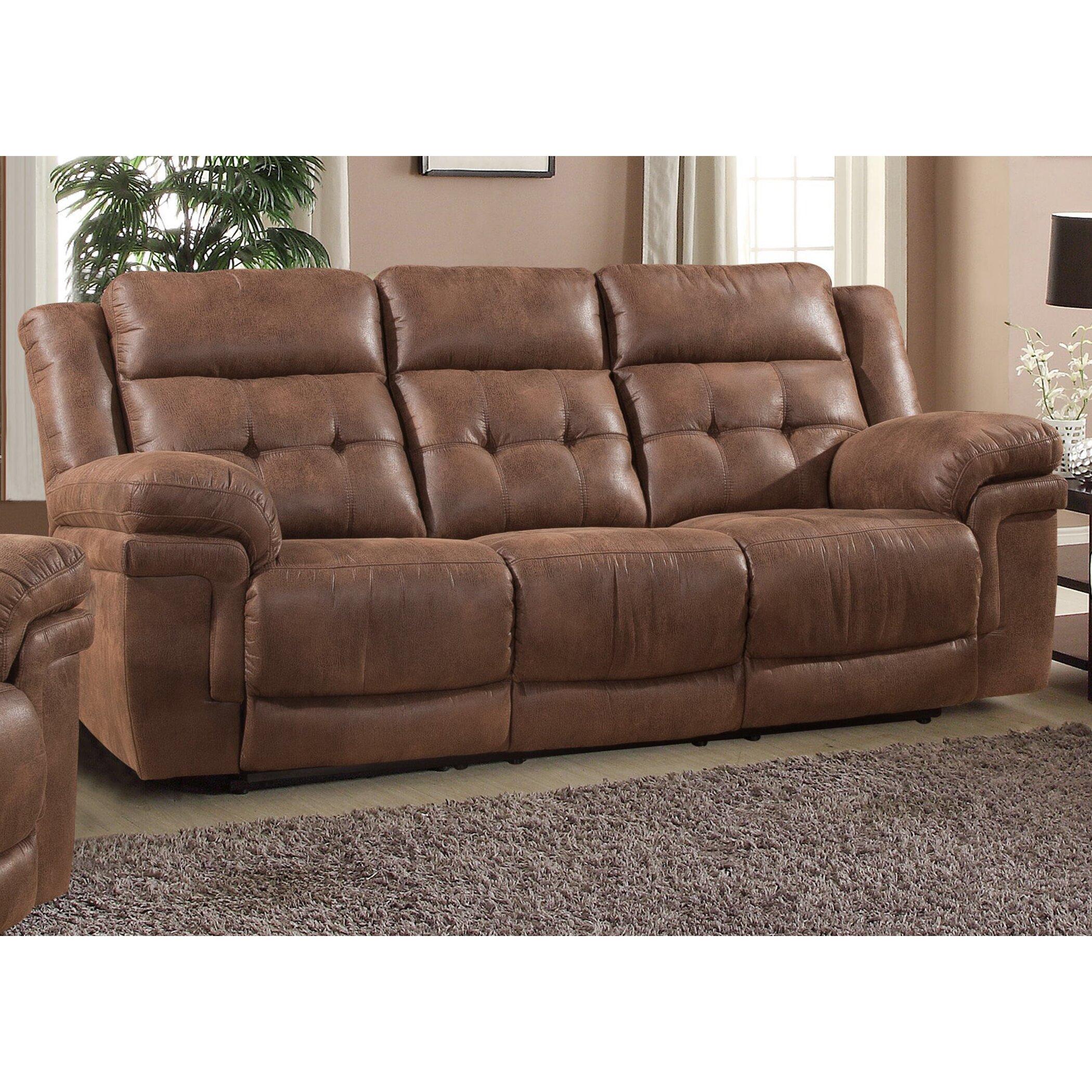 AC Pacific Kingston Reclining Sofa
