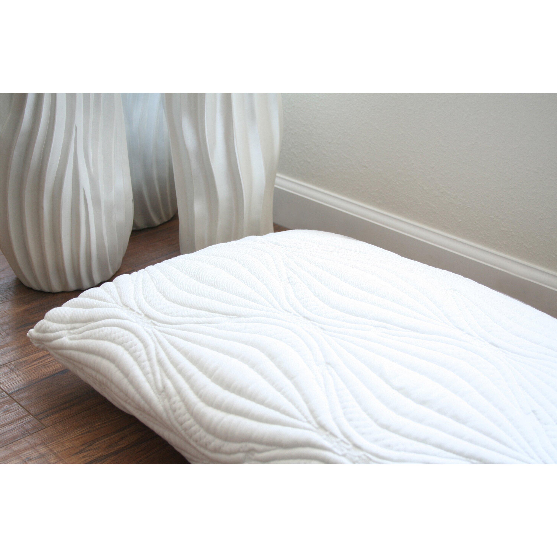 Ac pacific visco gel queen pillow reviews wayfair for Visco pillow