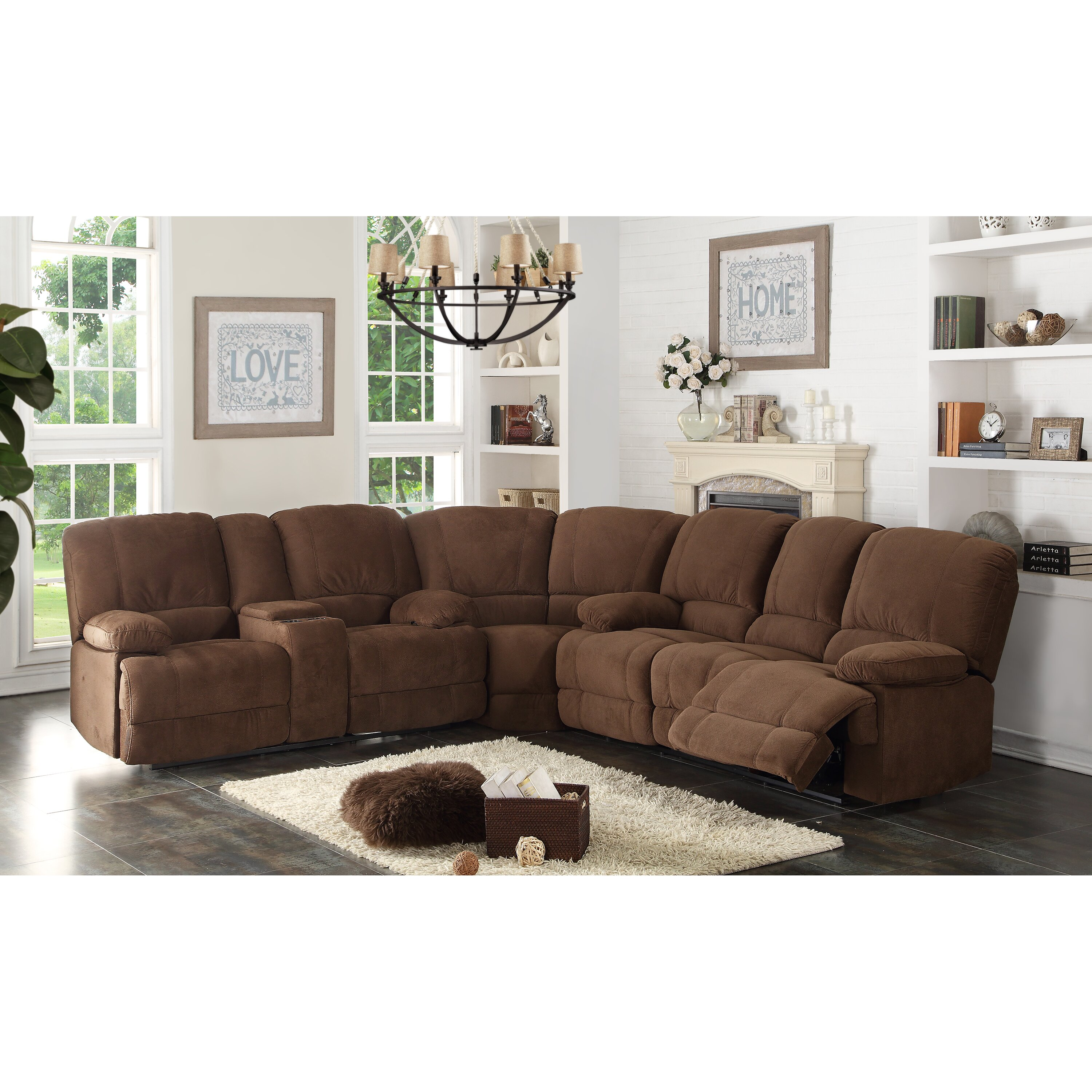 Ac Pacific Kevin Sectional Reviews Wayfair