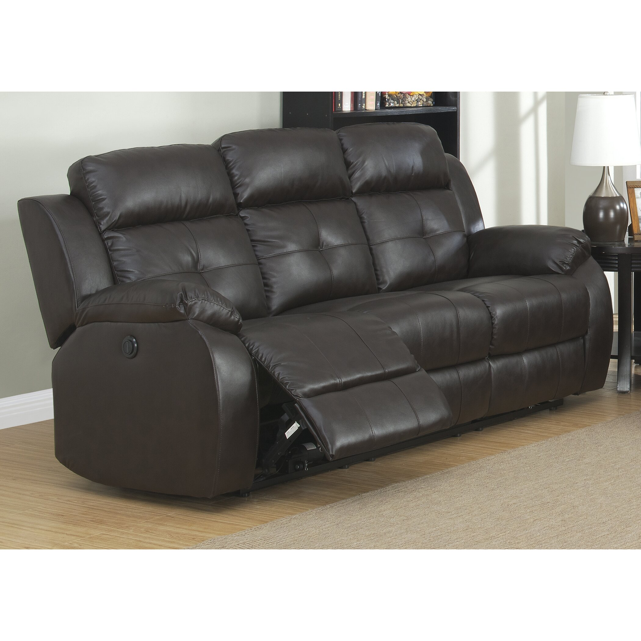 AC Pacific Troy Power 3 Piece Reclining Living Room Set Wayfair